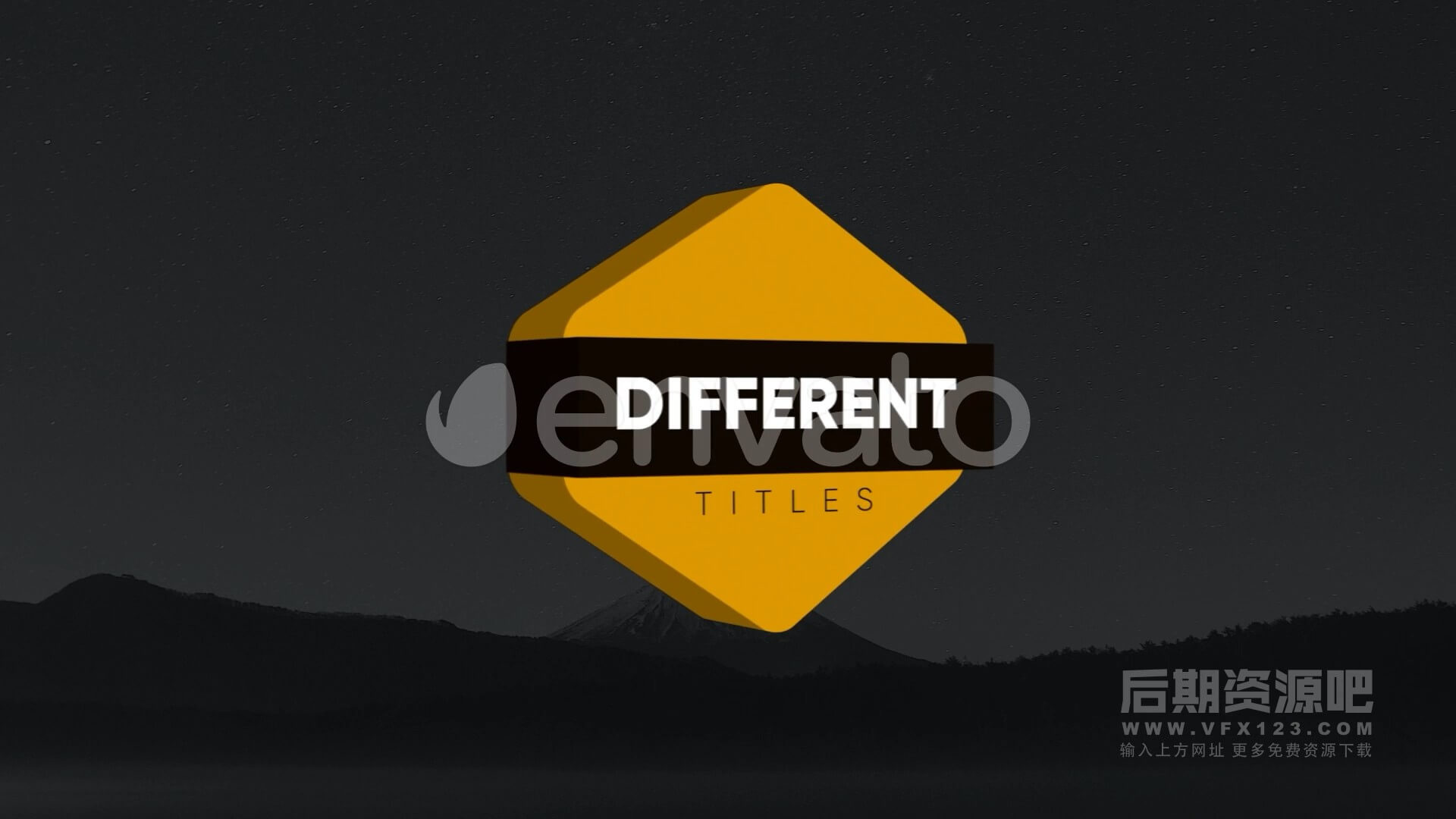 Fcpx标题插件 3D立体标题制作工具 Modern Isometric Titles