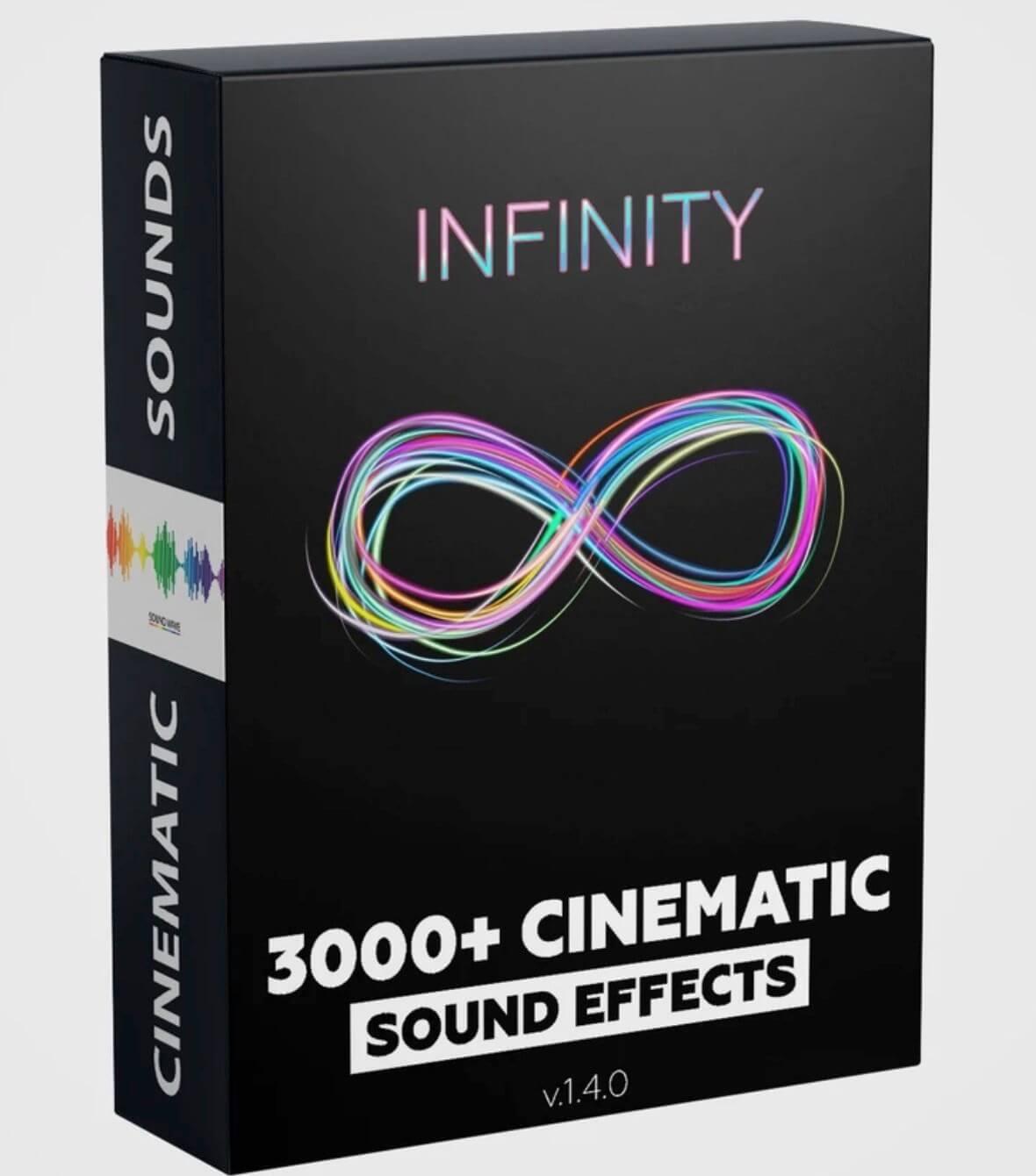 音效素材 3000+震撼大气深沉低音鼓声转场等电影预告片音效 INFINITY