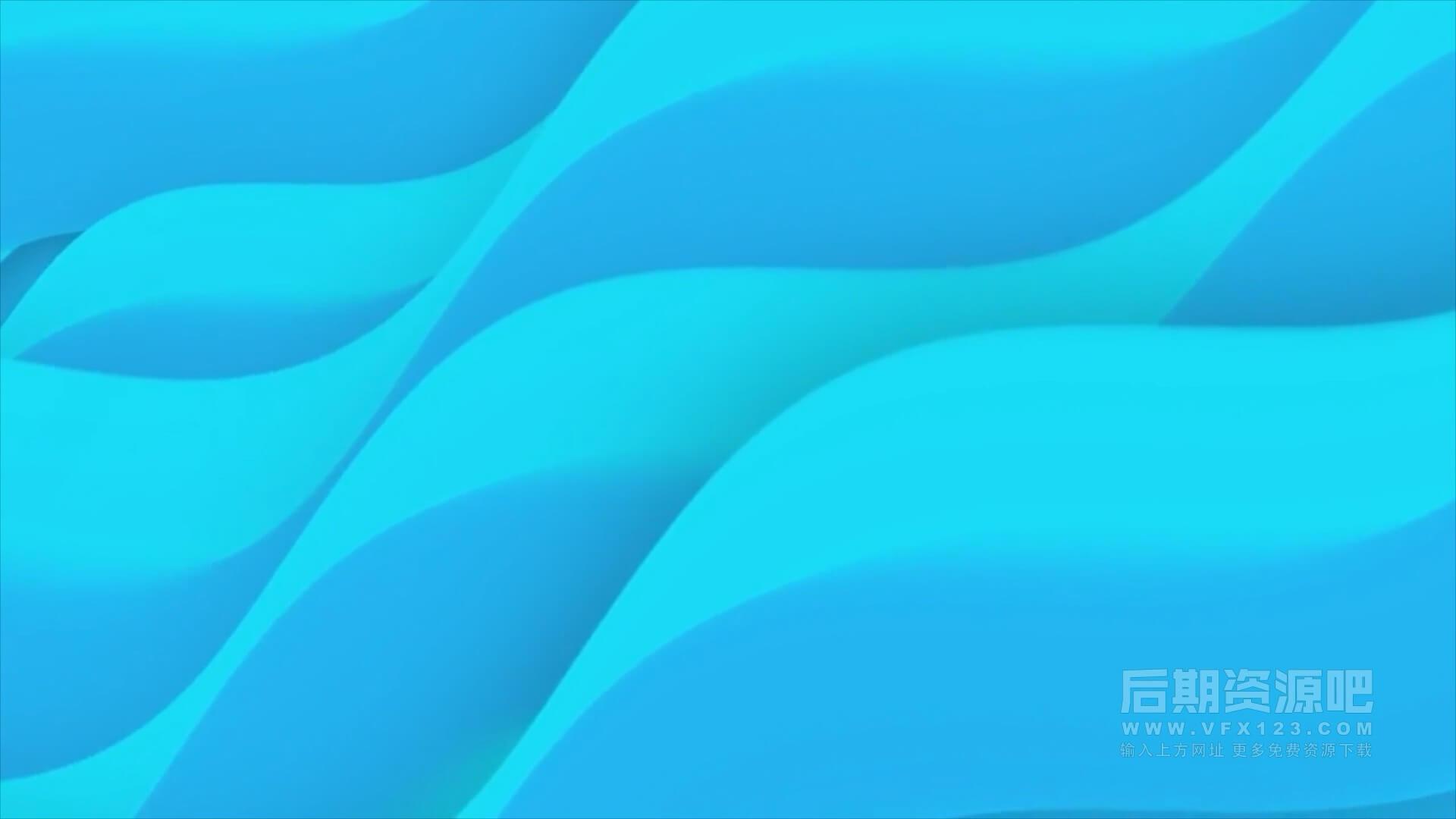 fcpx插件 17组绚丽动态背景素材 可自定义颜色 Backgrounds