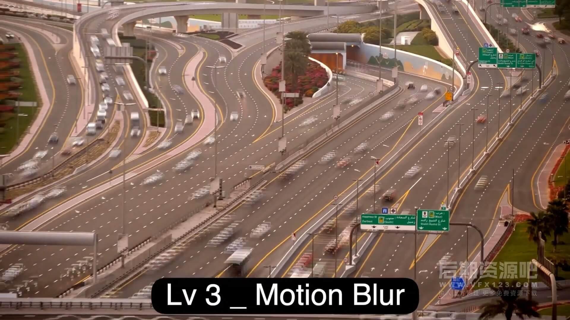 FCPX效果插件 为影片添加动态模糊特效工具 Motion Blur tools