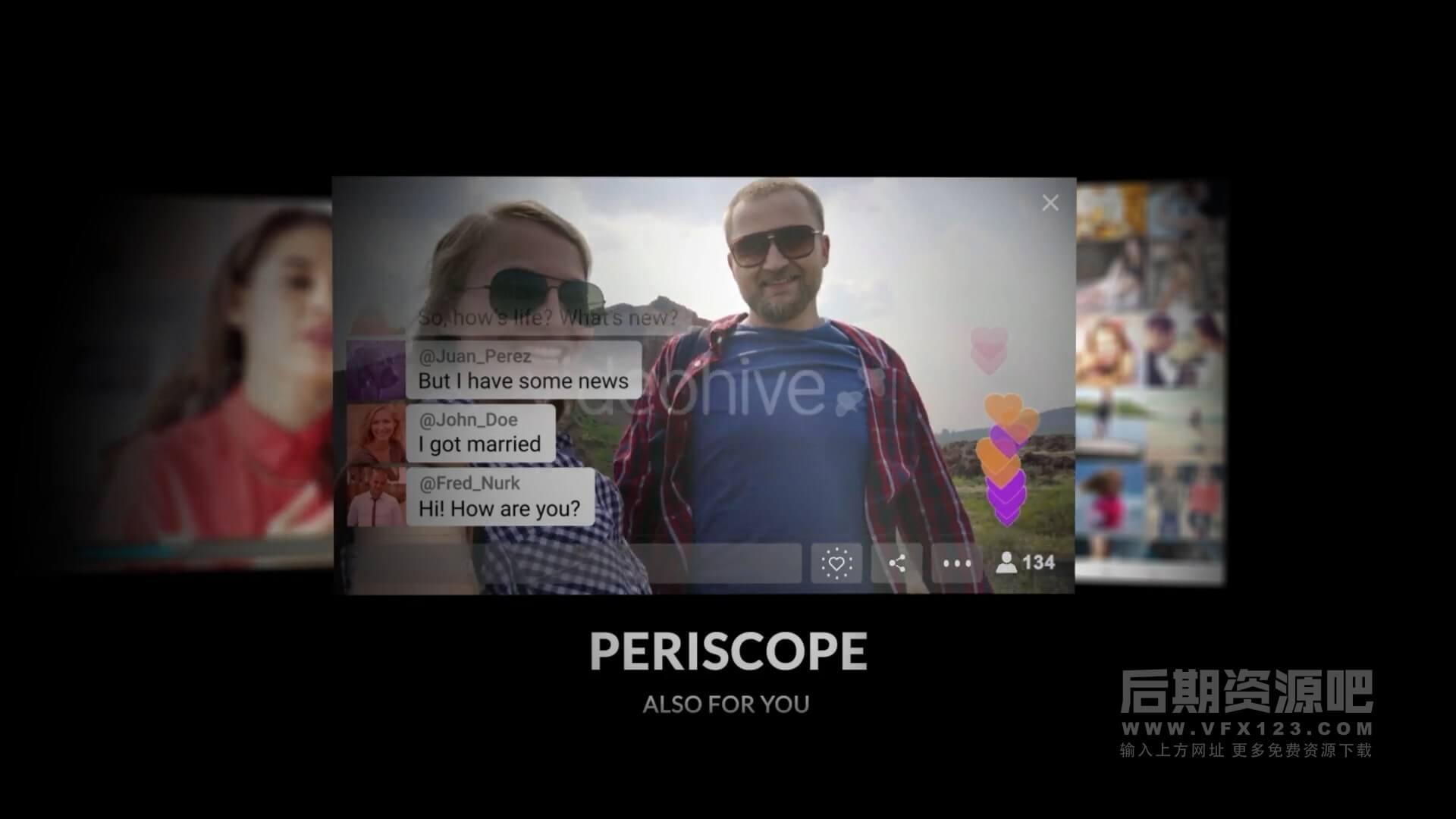 AE模板 QQ微信手机短信社交APP聊天气泡弹窗对话框动画