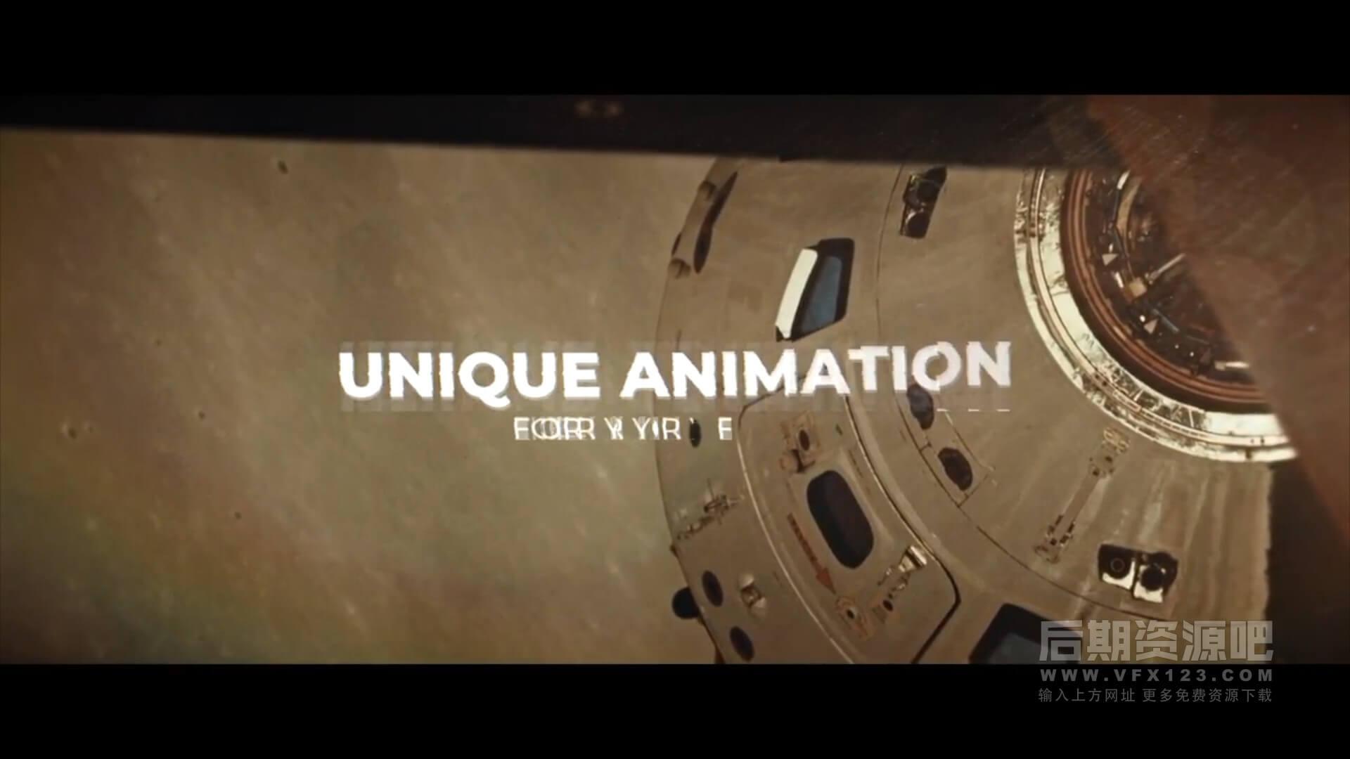 Fcpx标题动画插件 抖动变形闪烁文字效果 Motion Text Animator