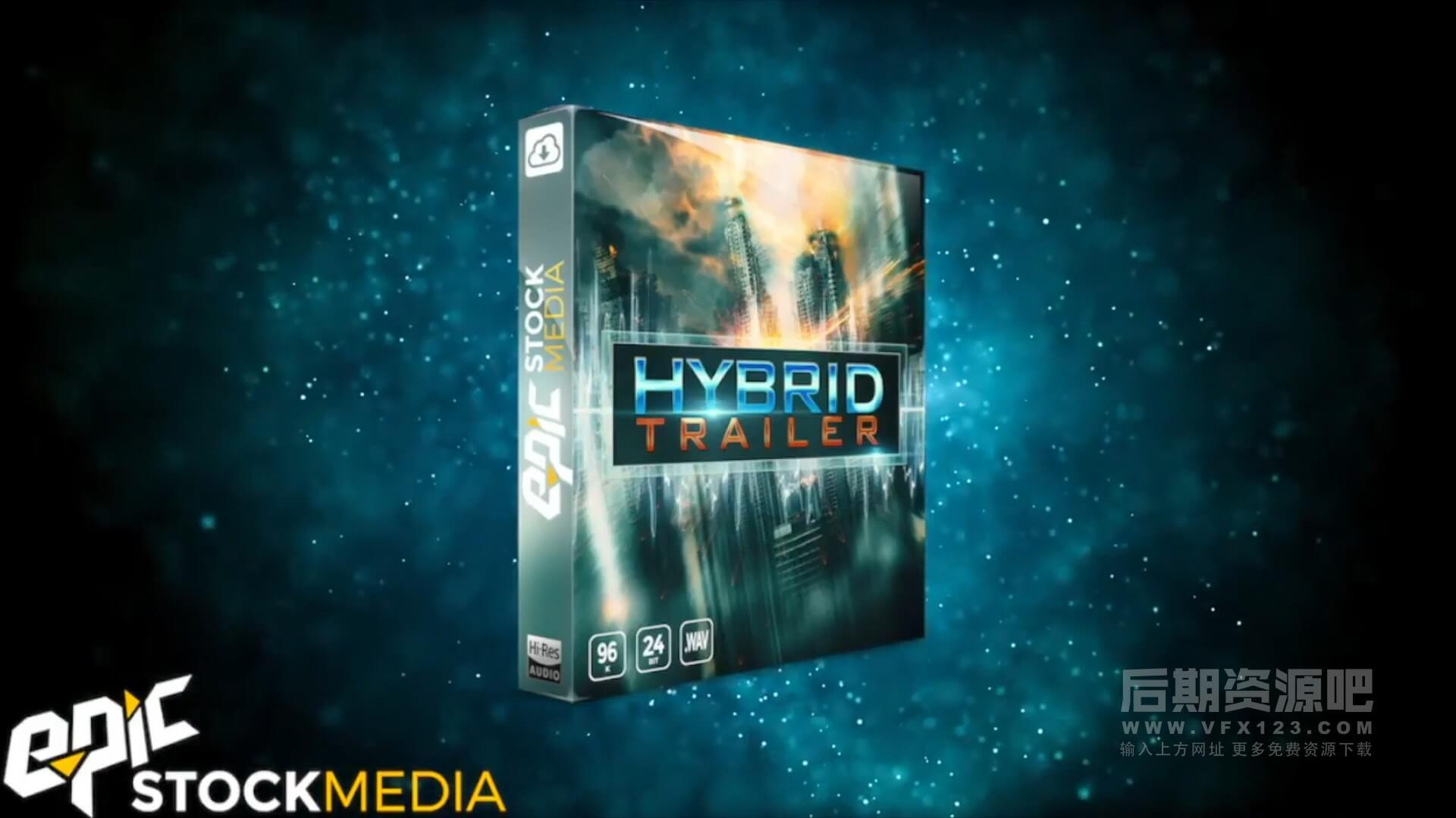 音效素材 503科幻游戏破坏冲击UI动作电影预告片音效集合 Hybrid Trailer