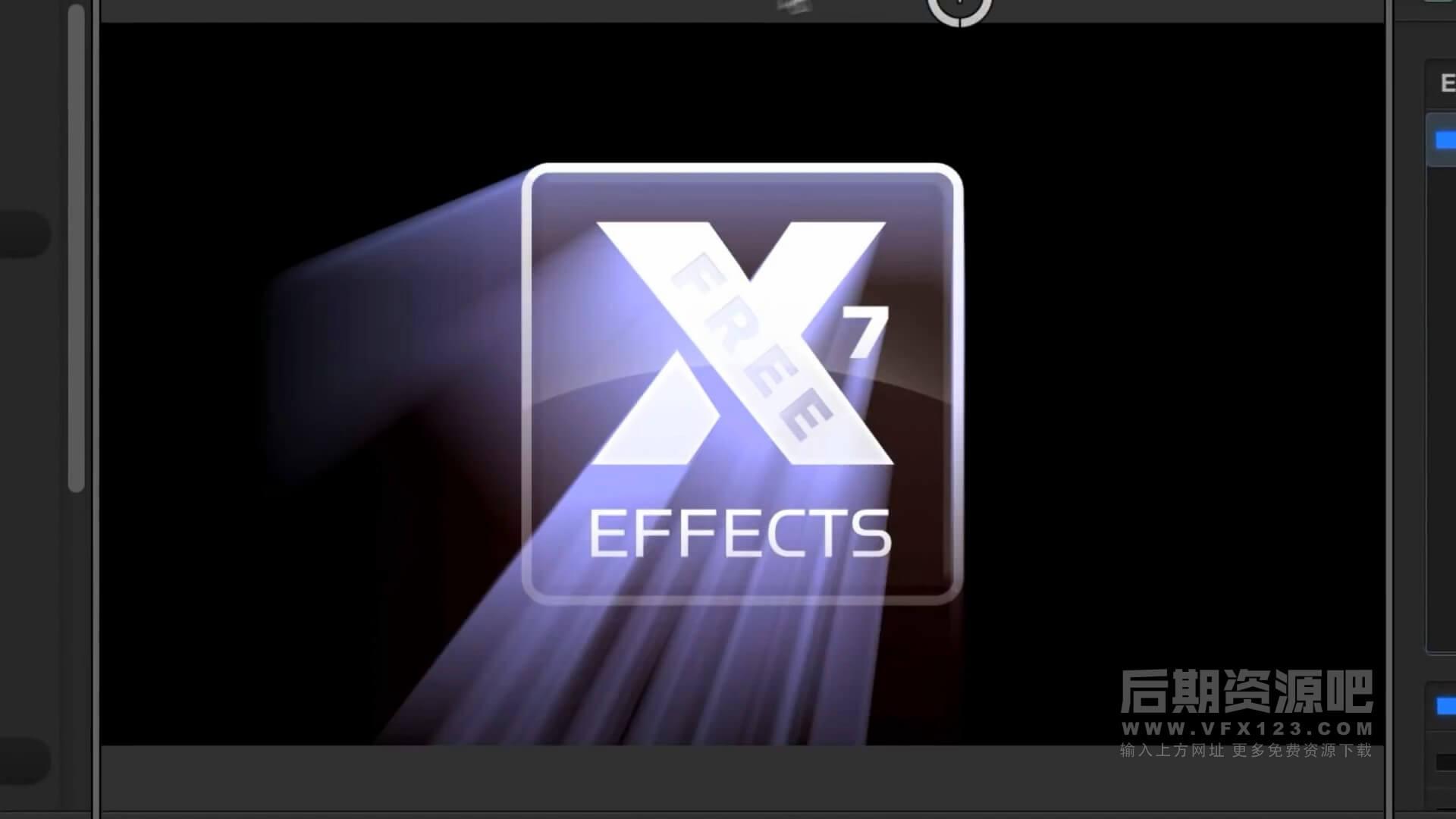fcpx特效插件 图形图像添加彩色射线效果插件 COLOUR RAYS