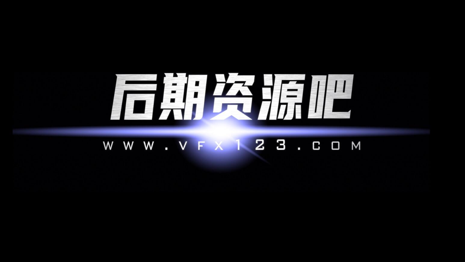fcpx插件 电影宣传片片头字幕标题添加扫光耀斑光效插件