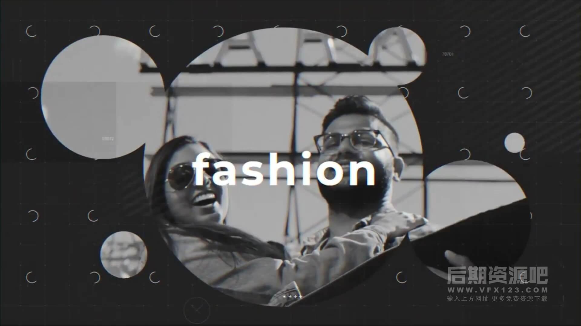 Fcpx主题模板 时尚旅行个人写真开场片头 Modern Trend