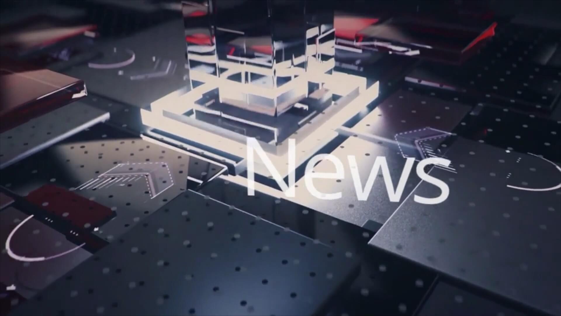 fcpx主题模板 新闻广播片头 兼容Motion Breaking News Opener