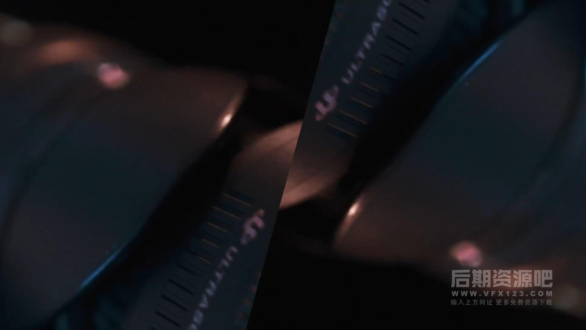 fcpx效果插件 影片添加画中画翻转分割叠加效果预设 FLIP EFFECT