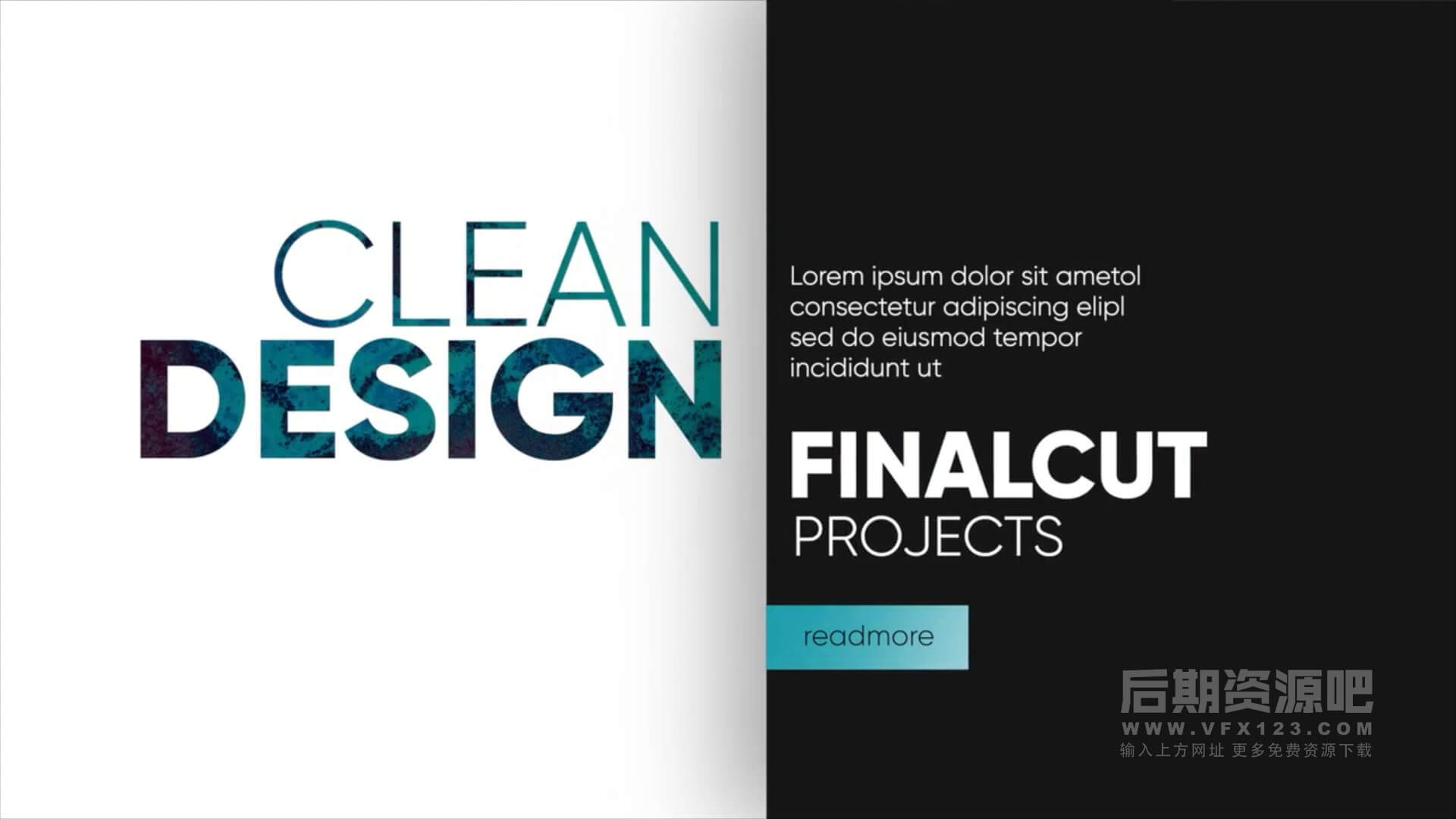 fcpx插件 创意大标题图文排版动画 Creative typography v3