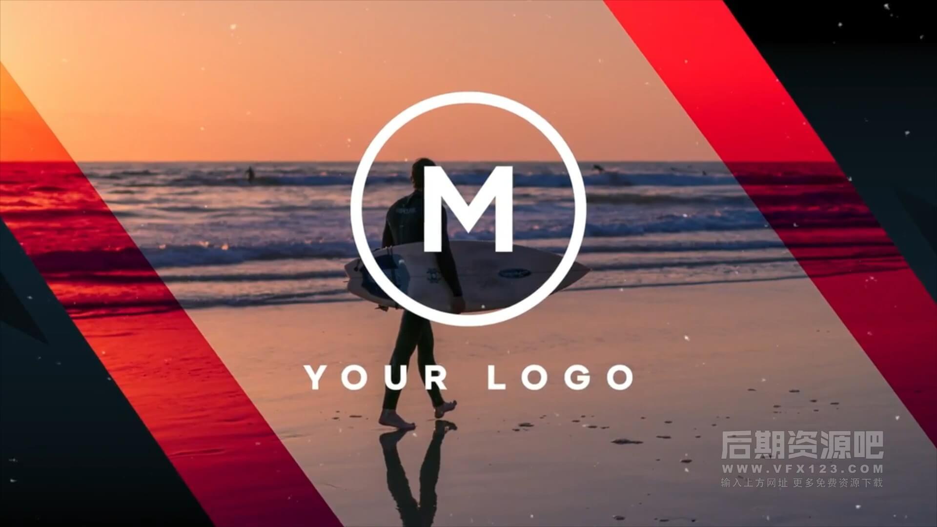 fcpx主题模板 动感卡点体育运动宣传片头 Modern Sport Promo