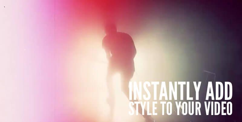 视频素材 294个4K光斑闪光灯光特效合成素材 Rampant GrungeLight