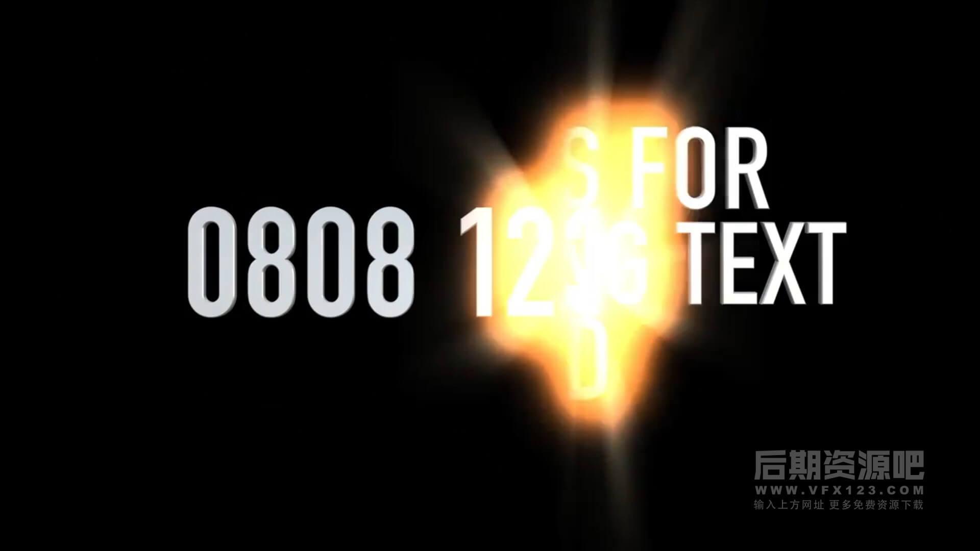 fcpx插件 51个视频图片文字添加光线扫光效果+19个转场预设 Volumetrix 2
