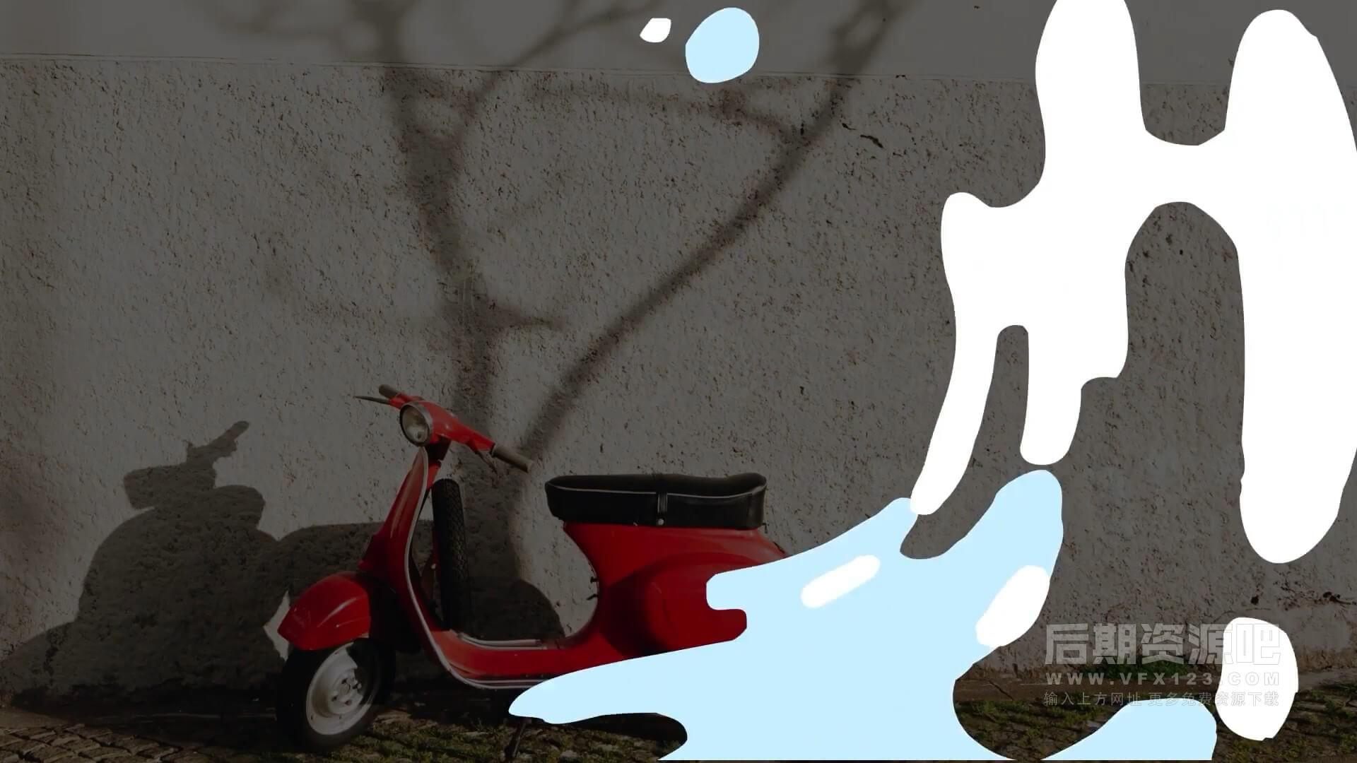 fcpx插件 卡通水主题标题转场动画模板 Cartoon Liquid Titles