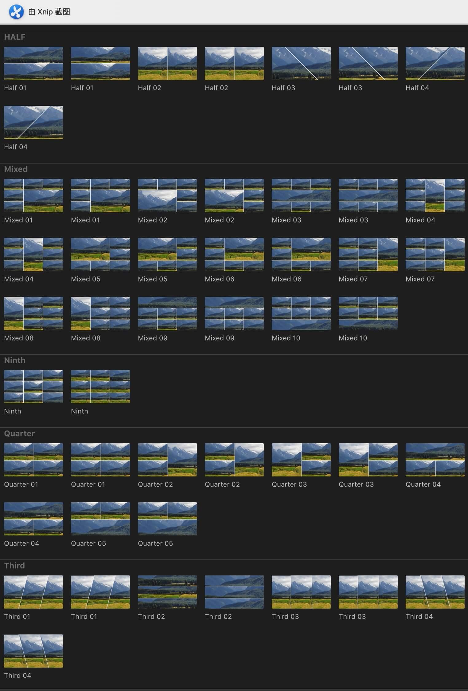 fcpx分屏插件 24种支持4K实用分屏预设 Split Screens Kit