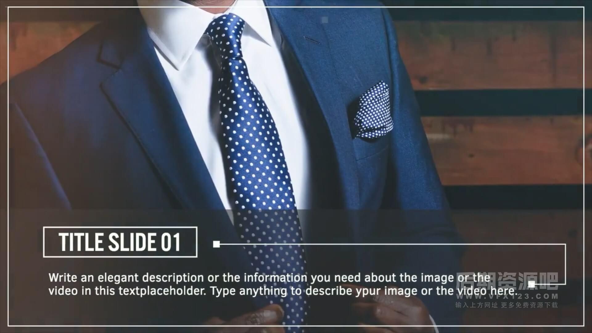 fcpx插件 简洁实用大段落说明文字标题版图文展示模板 Minimal Slideshow