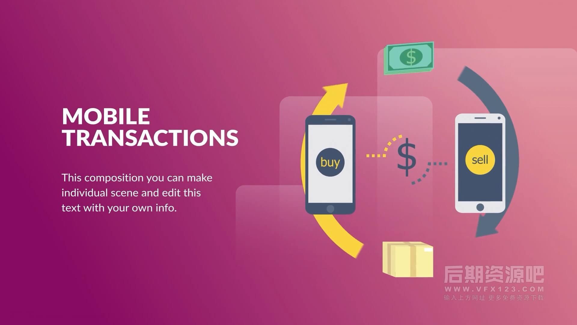 fcpx插件 银行金融体系相关演示文稿场景动画包 Banking and Finance