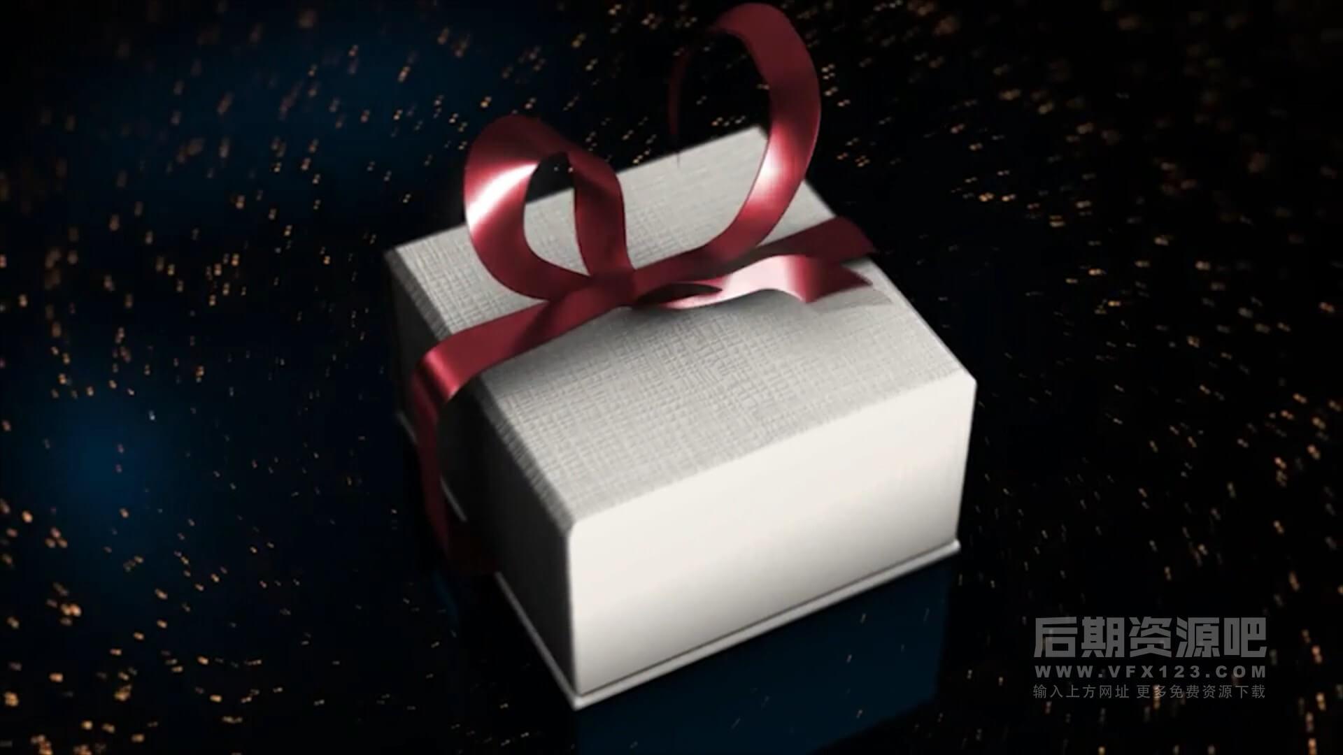 Motion模板 浪漫婚礼情人节片头开场 The Best Gift