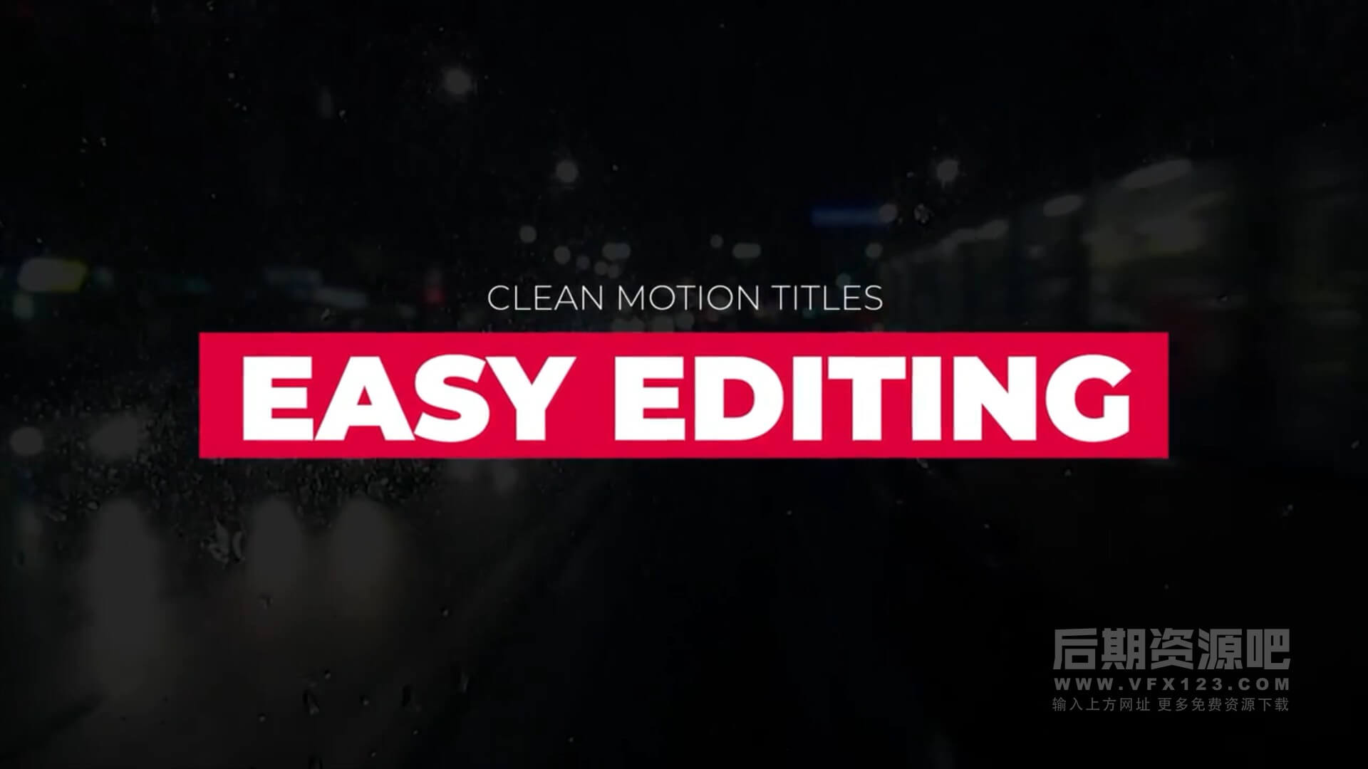 fcpx标题插件 14组简约风格创意标题动画预设 Unique Typography V2