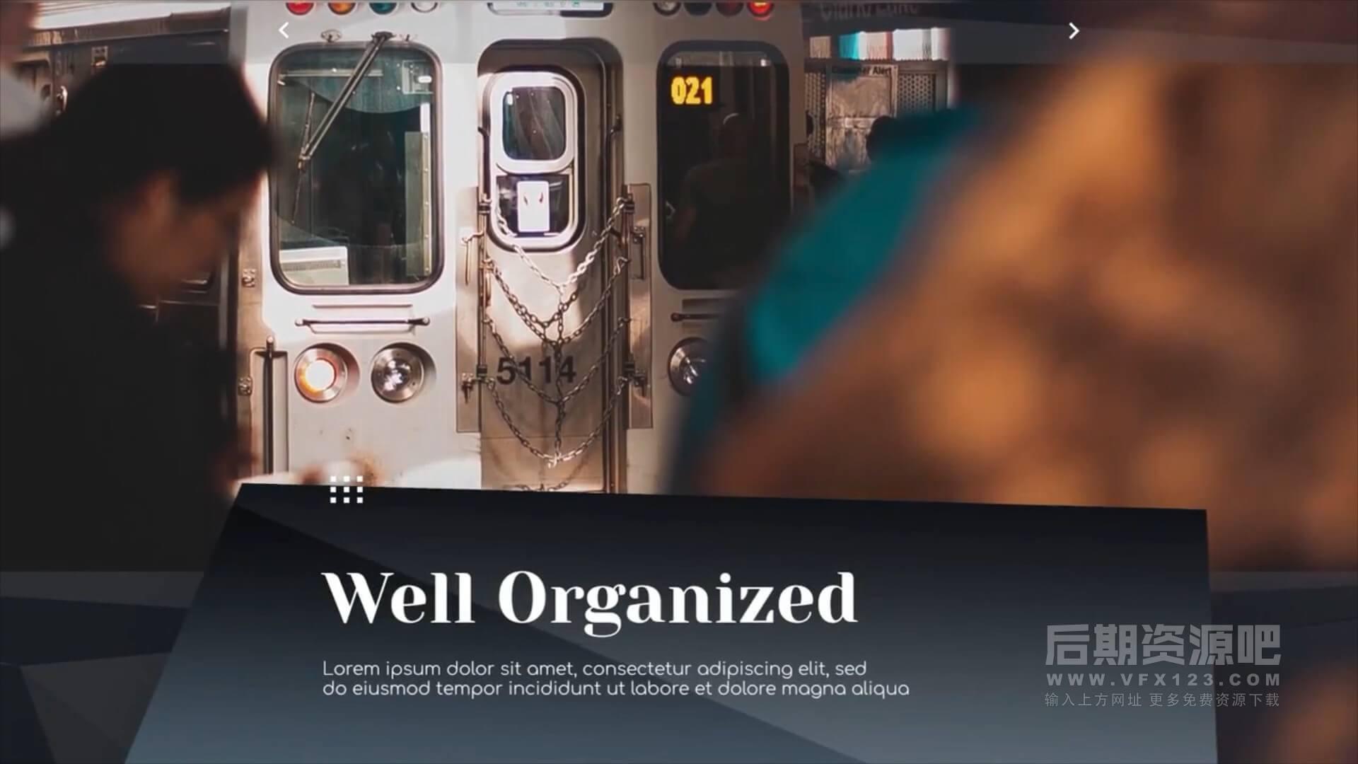 fcpx主题模板 商务类型简报演示文稿图文展示片头 Corporate Clean Presentation