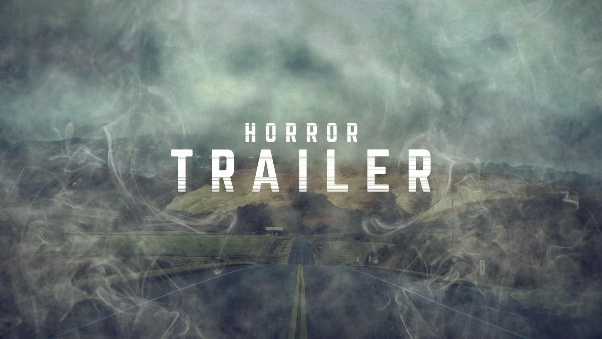 fcpx主题模板 震撼低沉大气电影预告片 Horror trailer titles