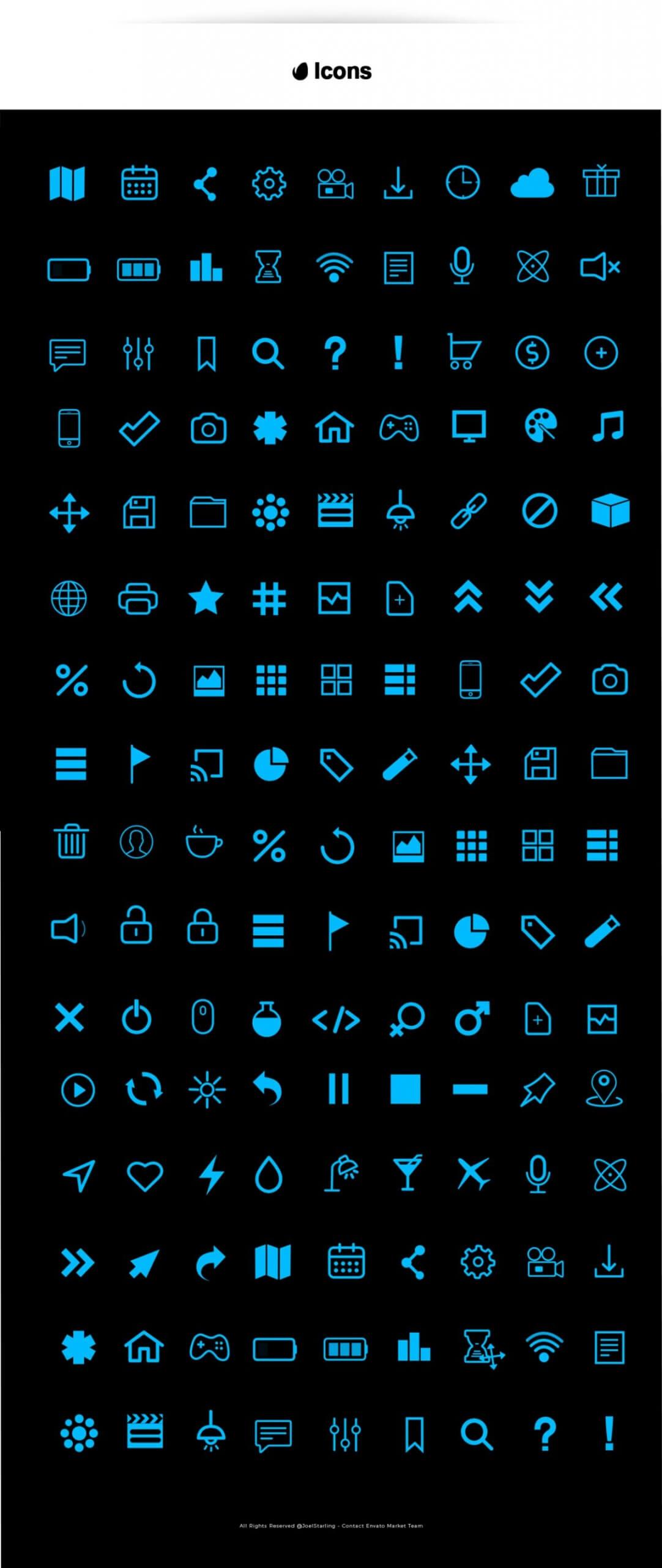 fcpx插件 520个彩色背景图形数据统计图表字幕条标题图标动画