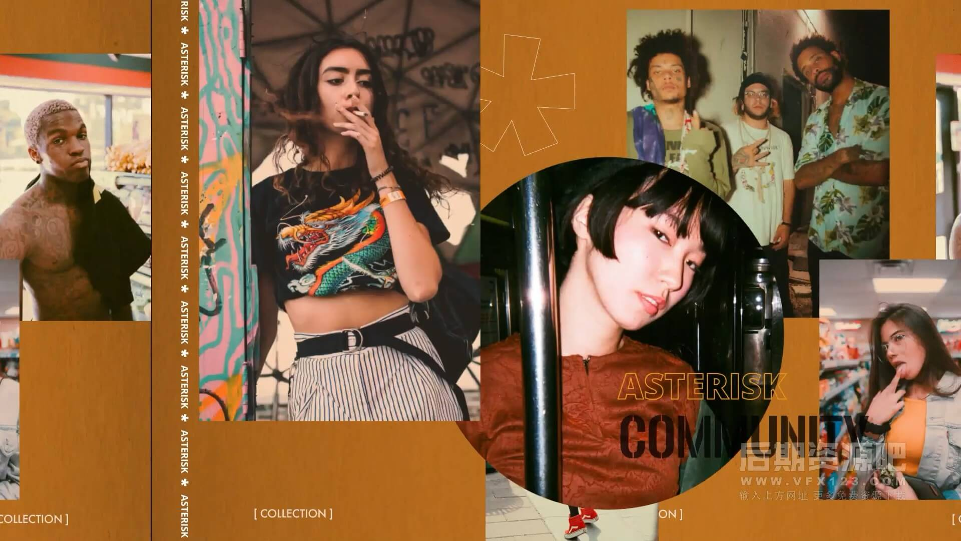 fcpx插件 街头嘻哈时尚促销宣传模板 Street Style Promo