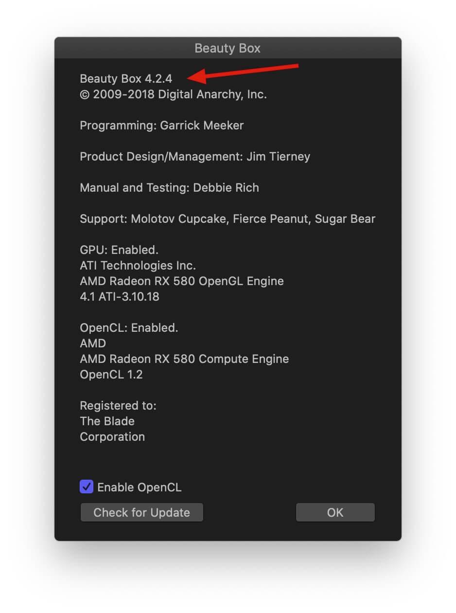 fcpx磨皮插件 视频人物美容磨皮美肤效果工具 Digital Anarchy Beauty Box 4.2.4