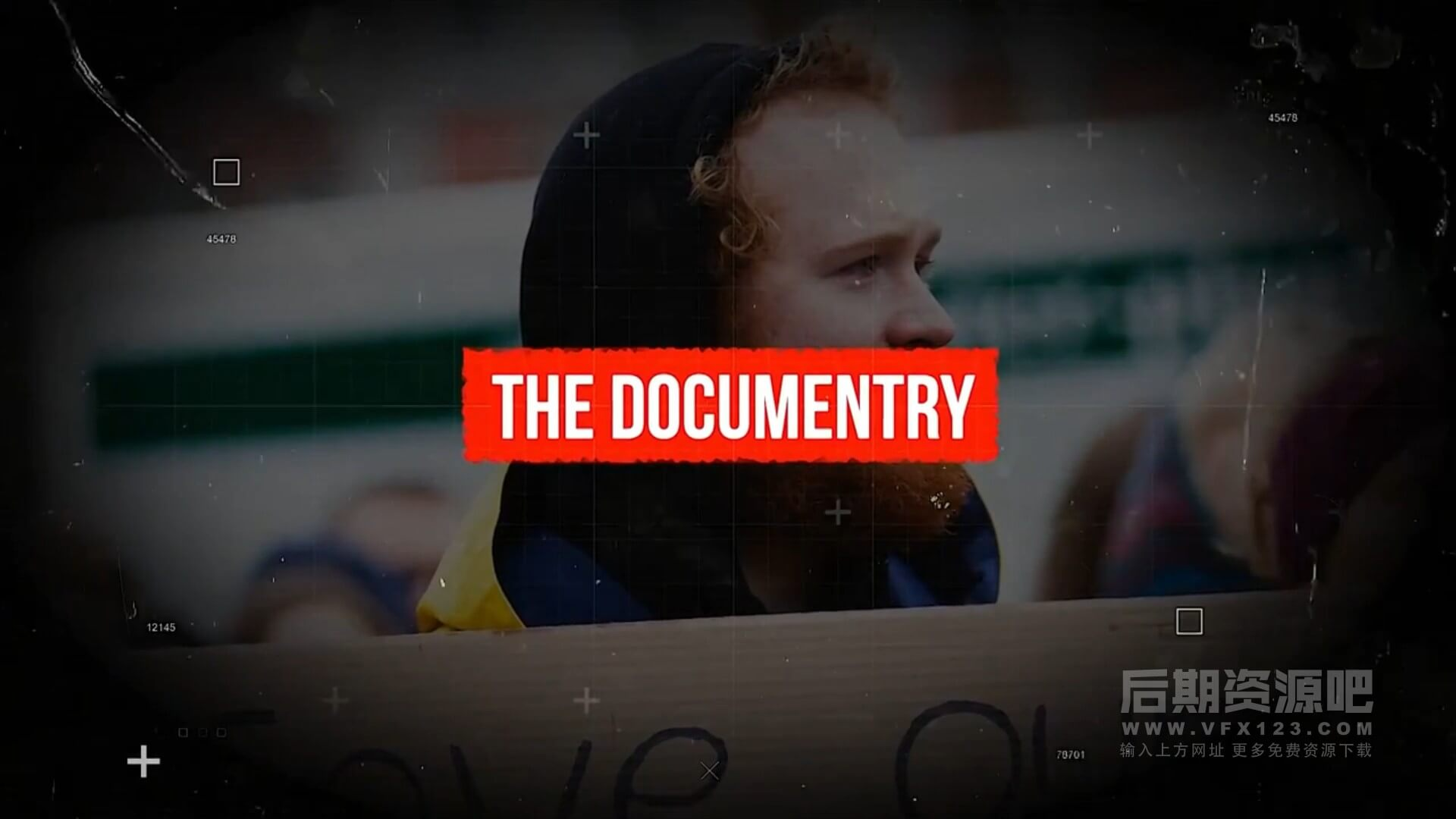 fcpx插件 历史回顾复古胶片风格相册展示纪录片片头模板 The Documentary