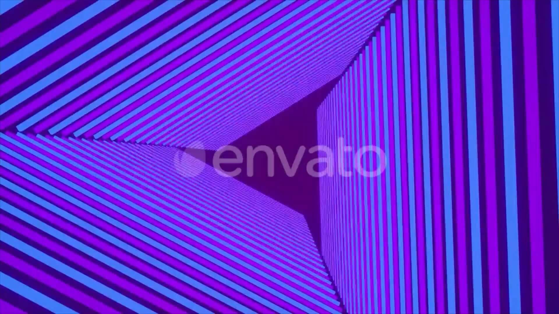 视频素材 20个4K紫色霓虹灯大屏VJ无缝循环背景 Neon Background