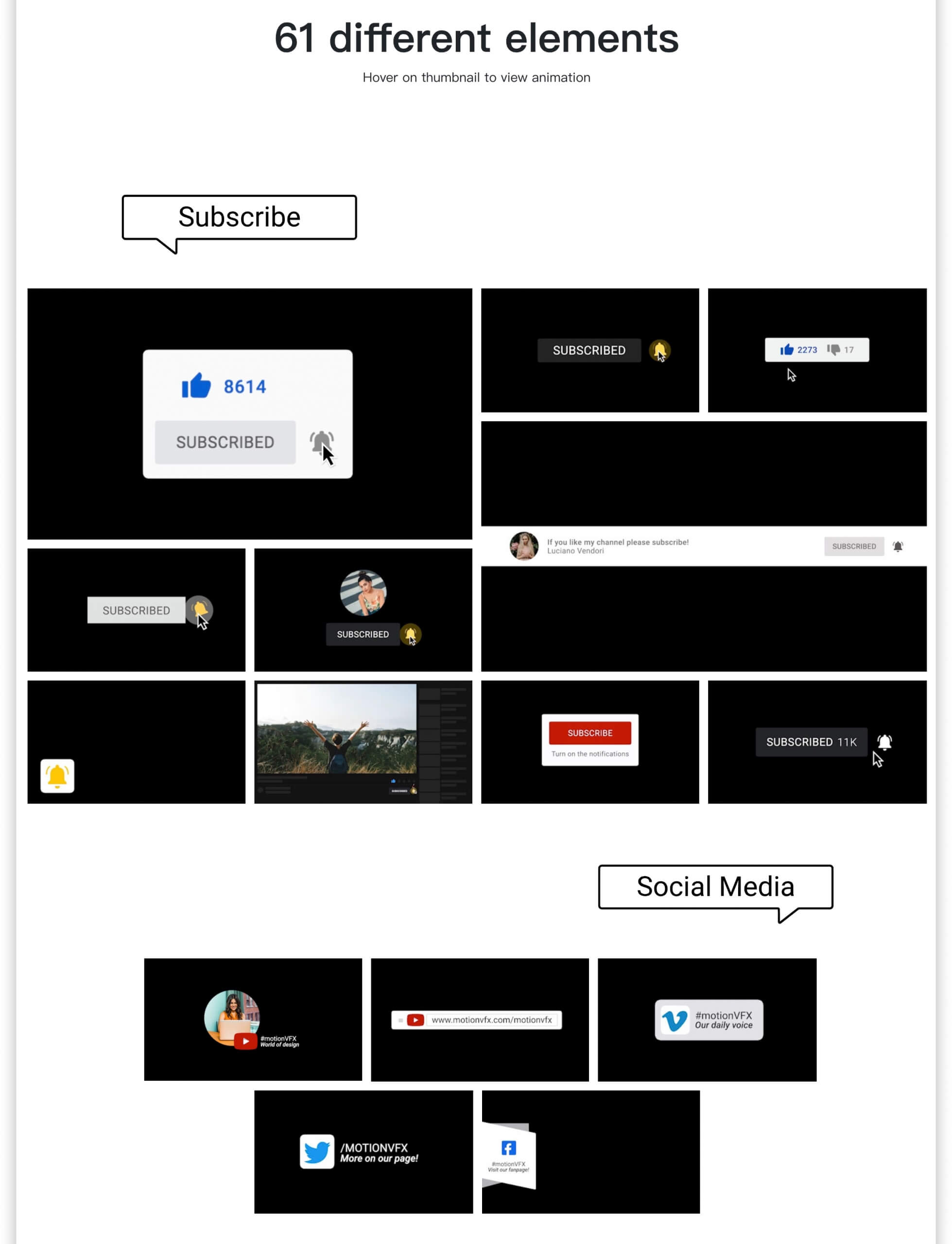 fcpx插件 视频博主影片制作工具包 LOGO展示下节预告点赞背景等 支持M1 mTuber 2
