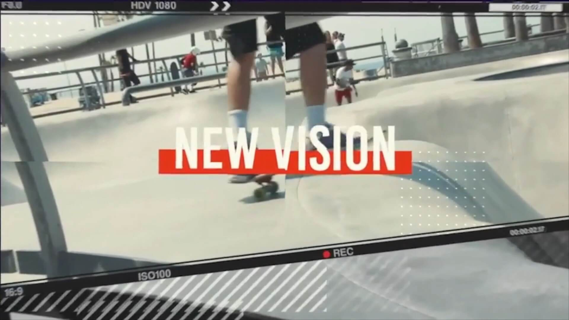 fcpx主题模板 炫酷现代都市时尚个性图文视频展示片头 Urban Frames