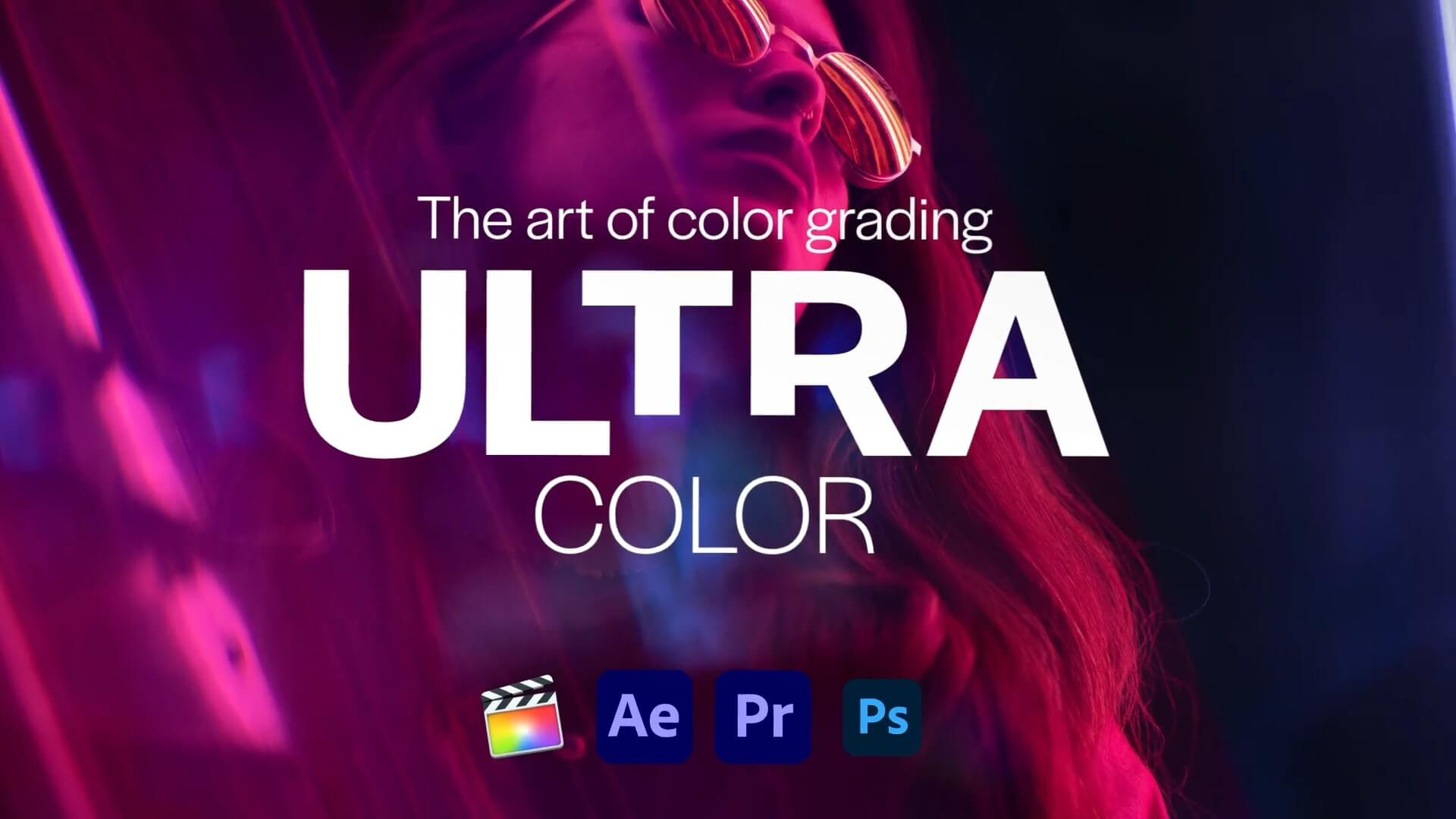 LUTs预设 100组适用电影婚礼Vlog流行调色包 Ultra Color