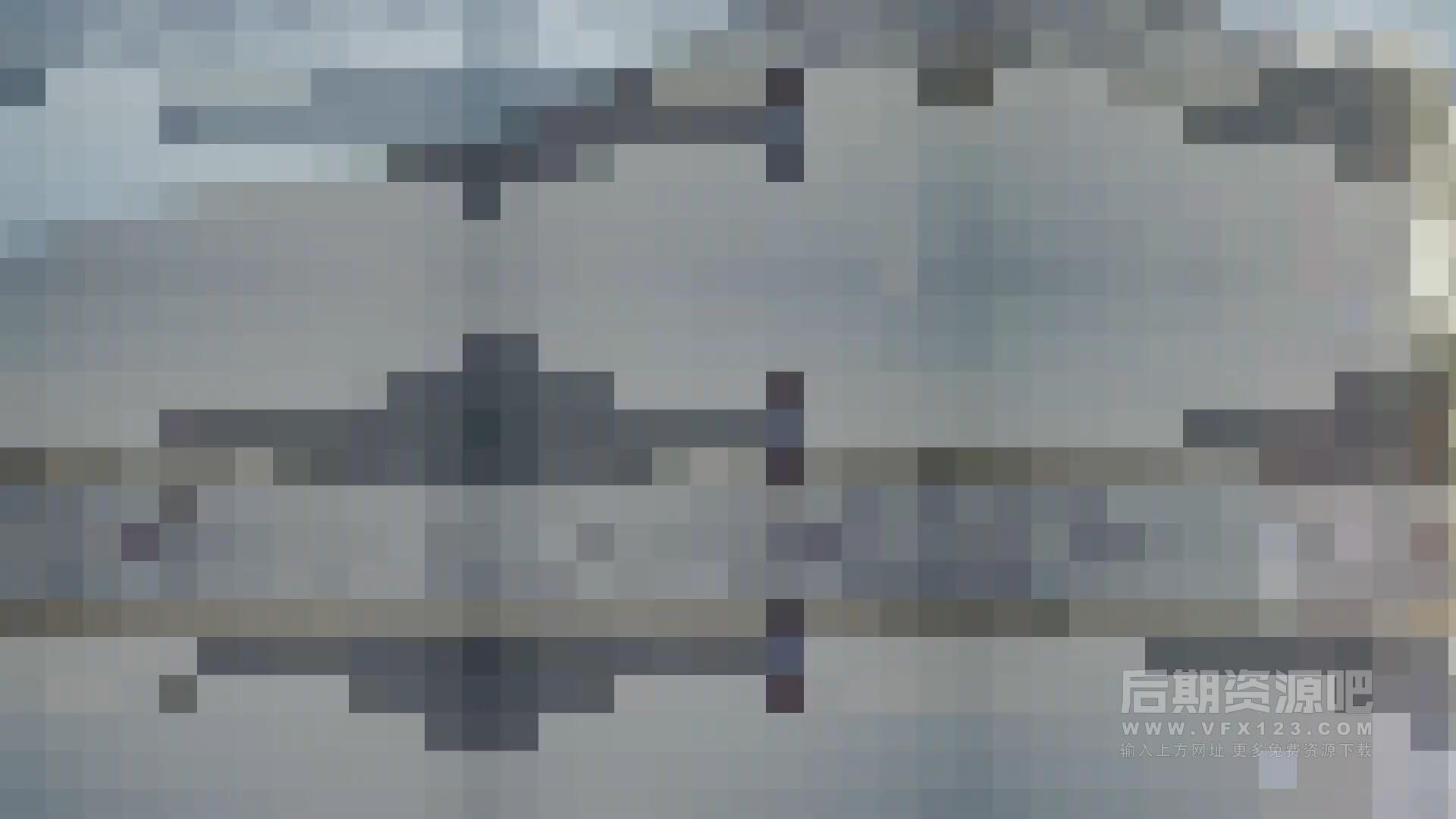 fcpx插件 Vlog影片精典实用转场集合包 缩放旋转焦点半色调像素风格等