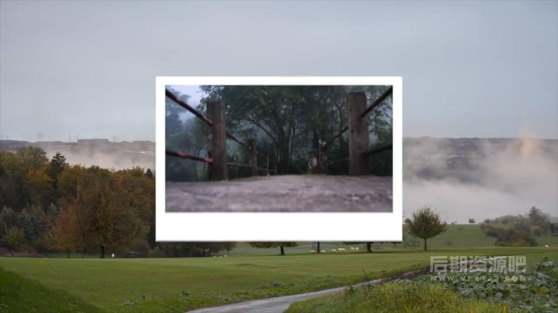 fcpx转场插件 10种照片定格飞出效果过渡转场 Photo Transitions