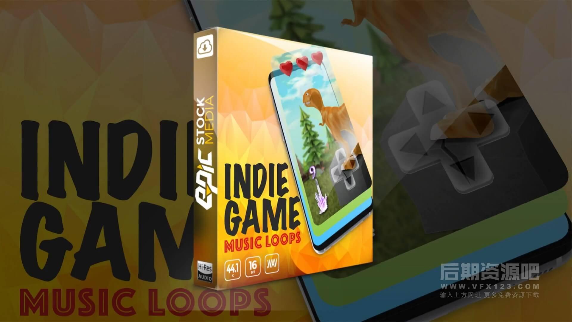 配乐素材 有趣轻松欢乐游戏可循环音乐 Indie Game Music Loops