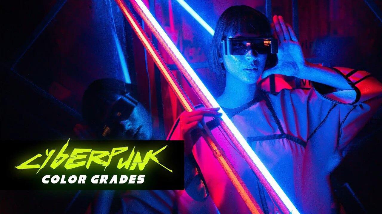 LUTs预设 26组赛博朋克调色预设 Cyberpunk Color Grades