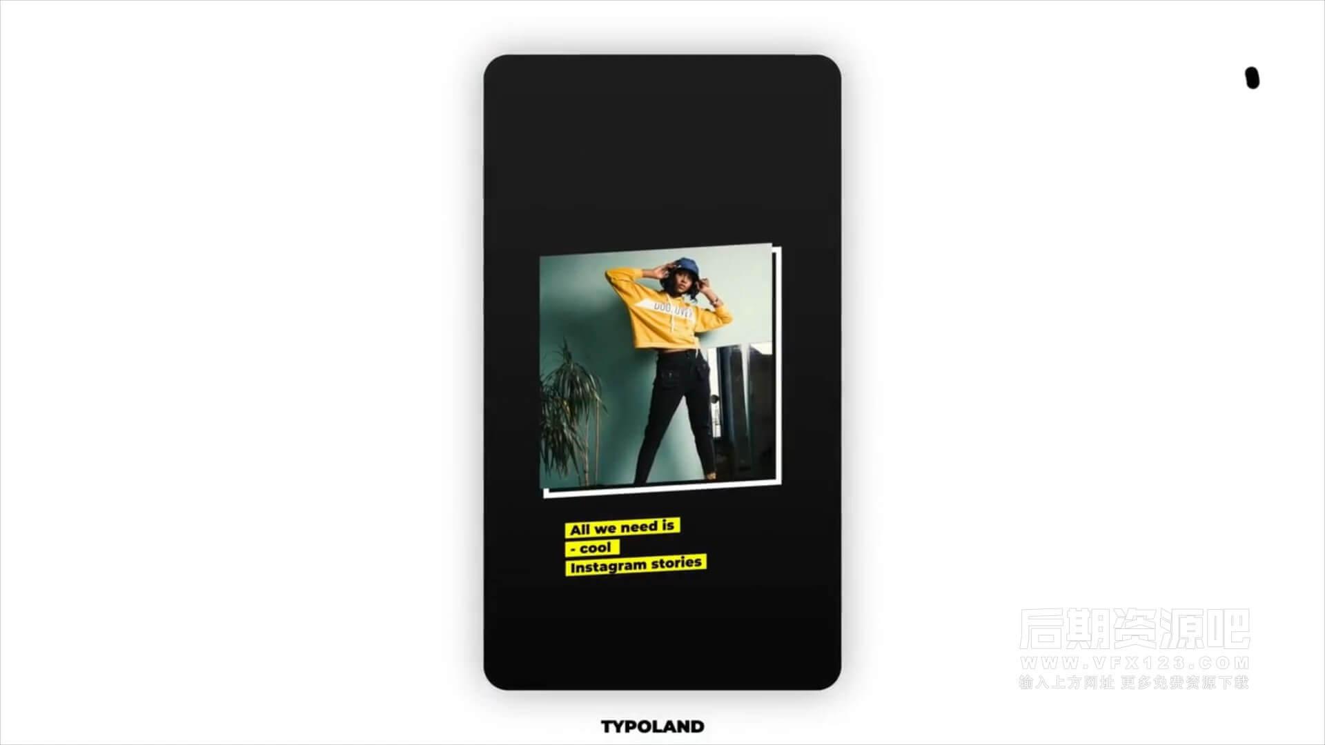 fcpx插件 5组简洁时尚运动旅行度假主题竖屏模板 Ins Sports stories