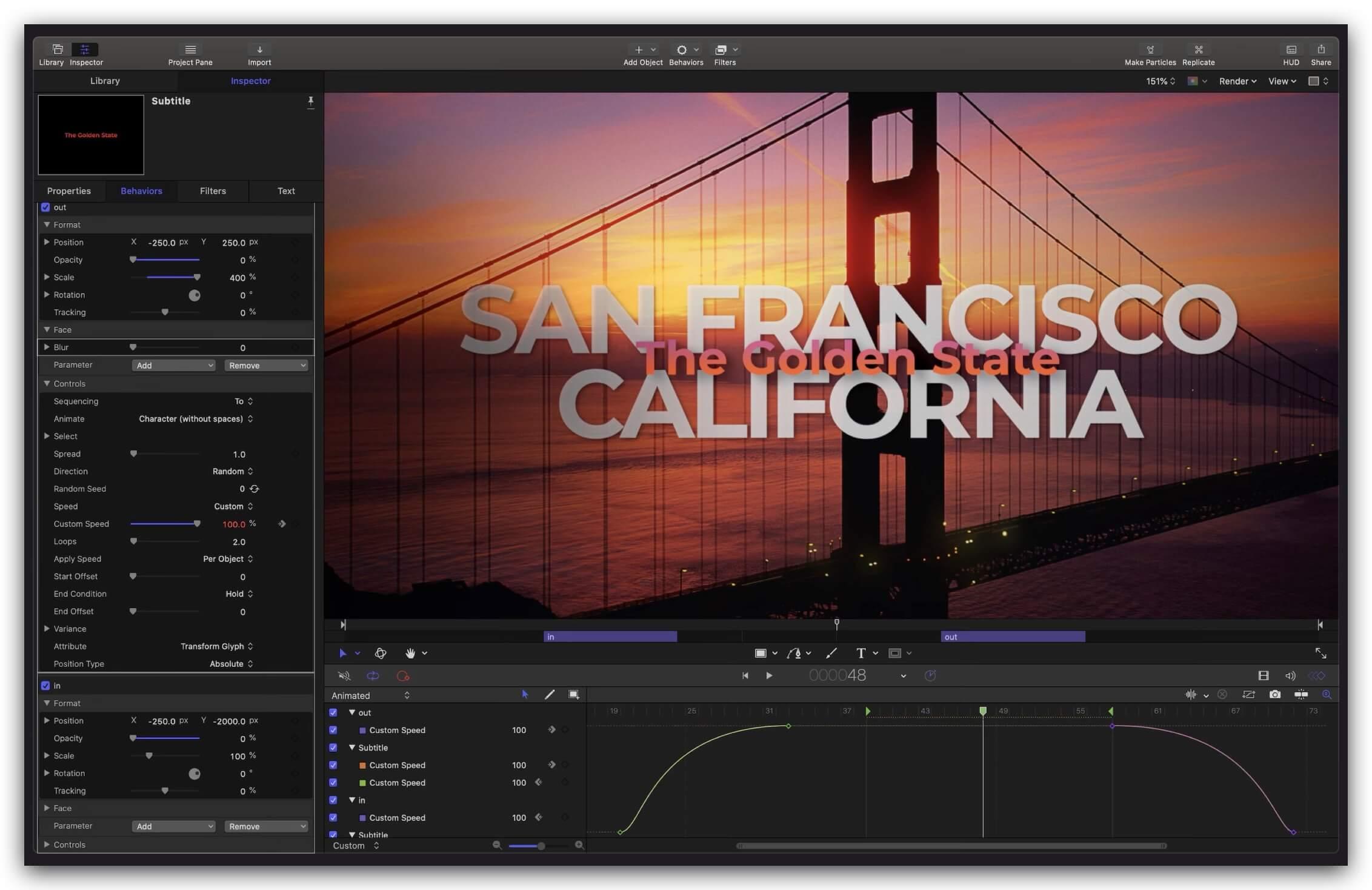Apple Motion 5.5 免费下载 中英文版 苹果视频剪辑软件