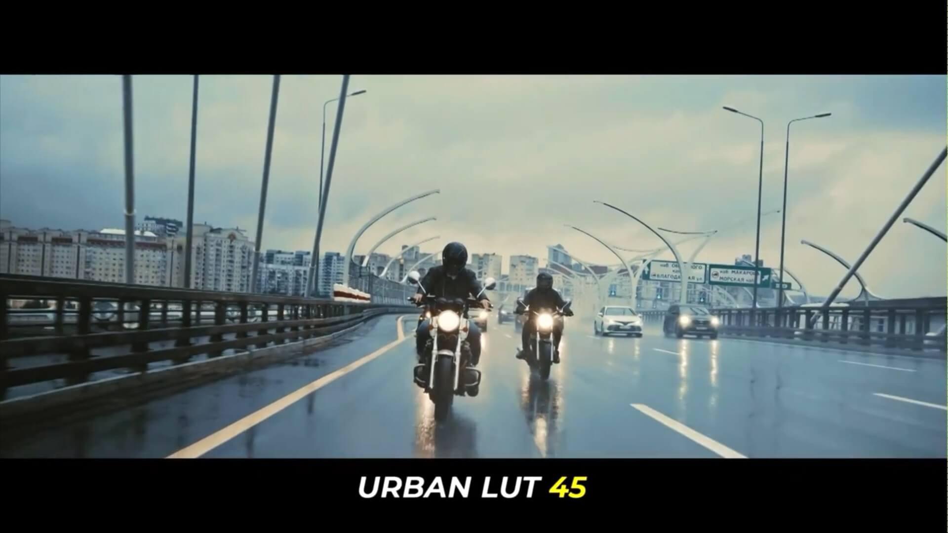 LUTs预设 100组大都市运动生活日常vlog调色 Urban Color Grades