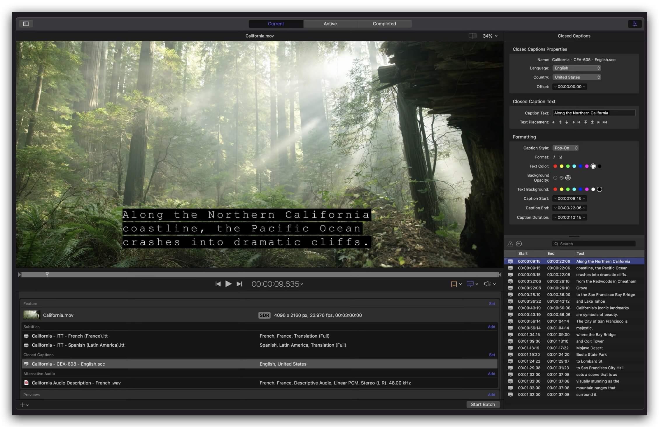 Apple Compressor 4.5 免费下载 中英文版 苹果视频压缩编码转码输出软件