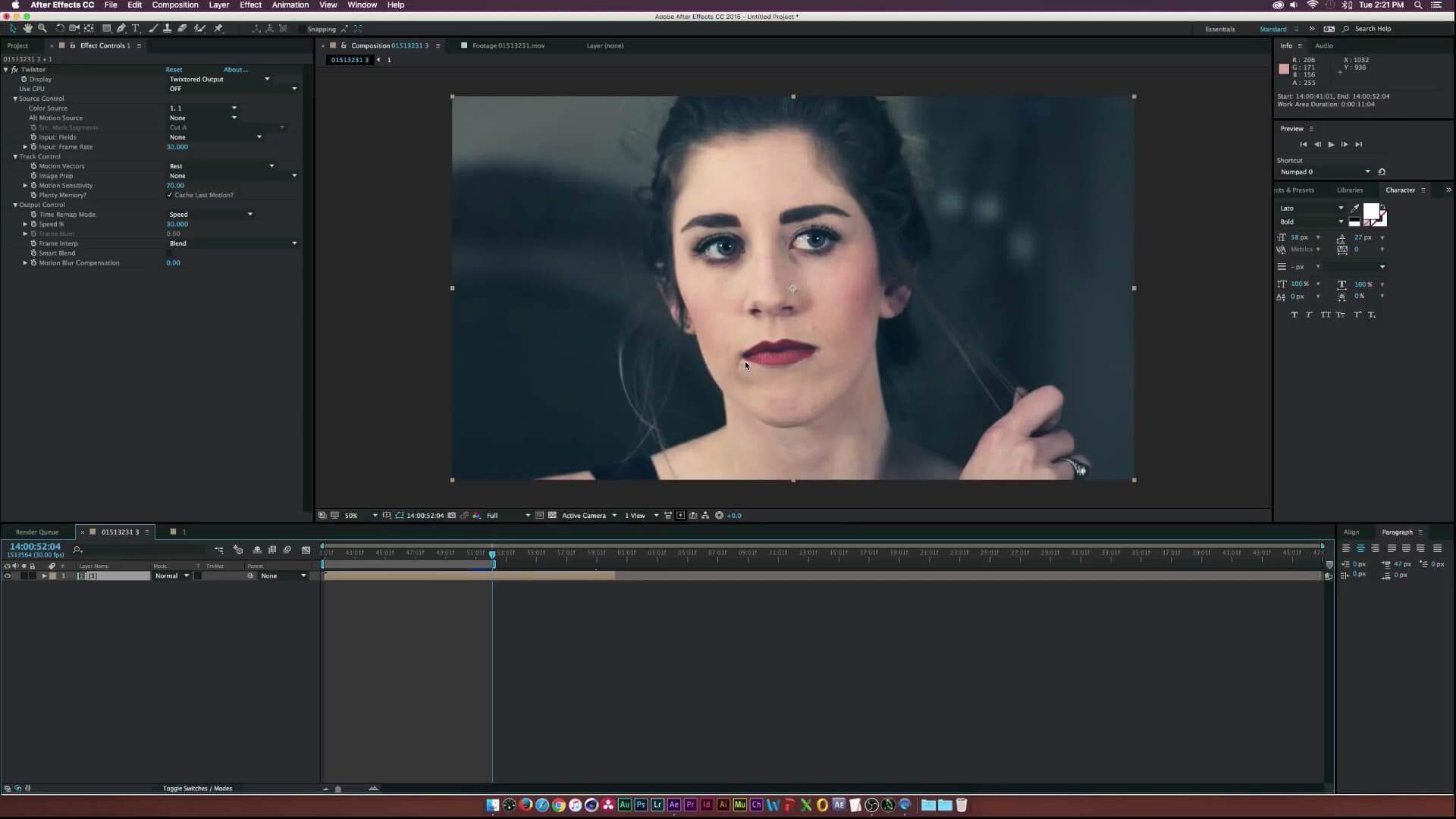 Twixtor Pro 7.3.1 视频变速慢动作插件 适用MAC版 AE+PR