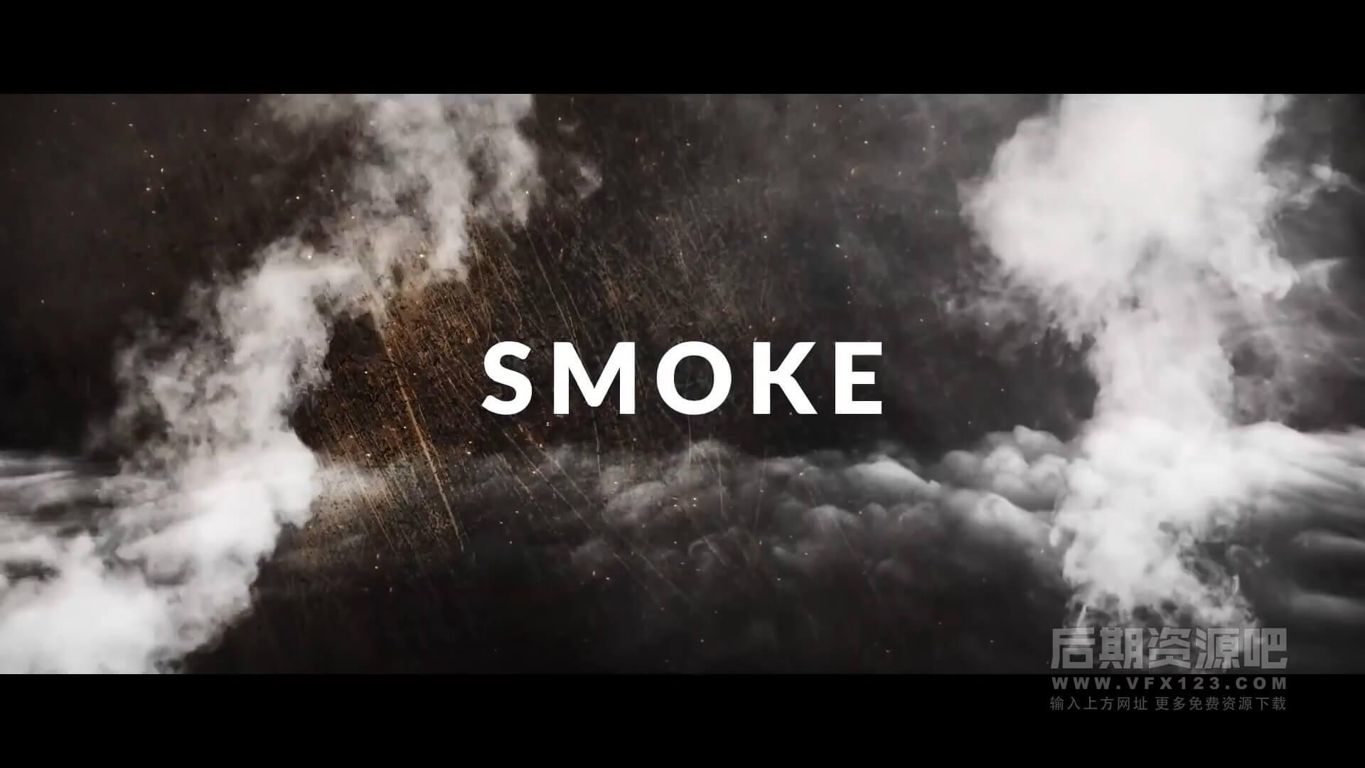视频素材 25个4K精选影视特效制作素材 火焰爆炸烟雾散落等