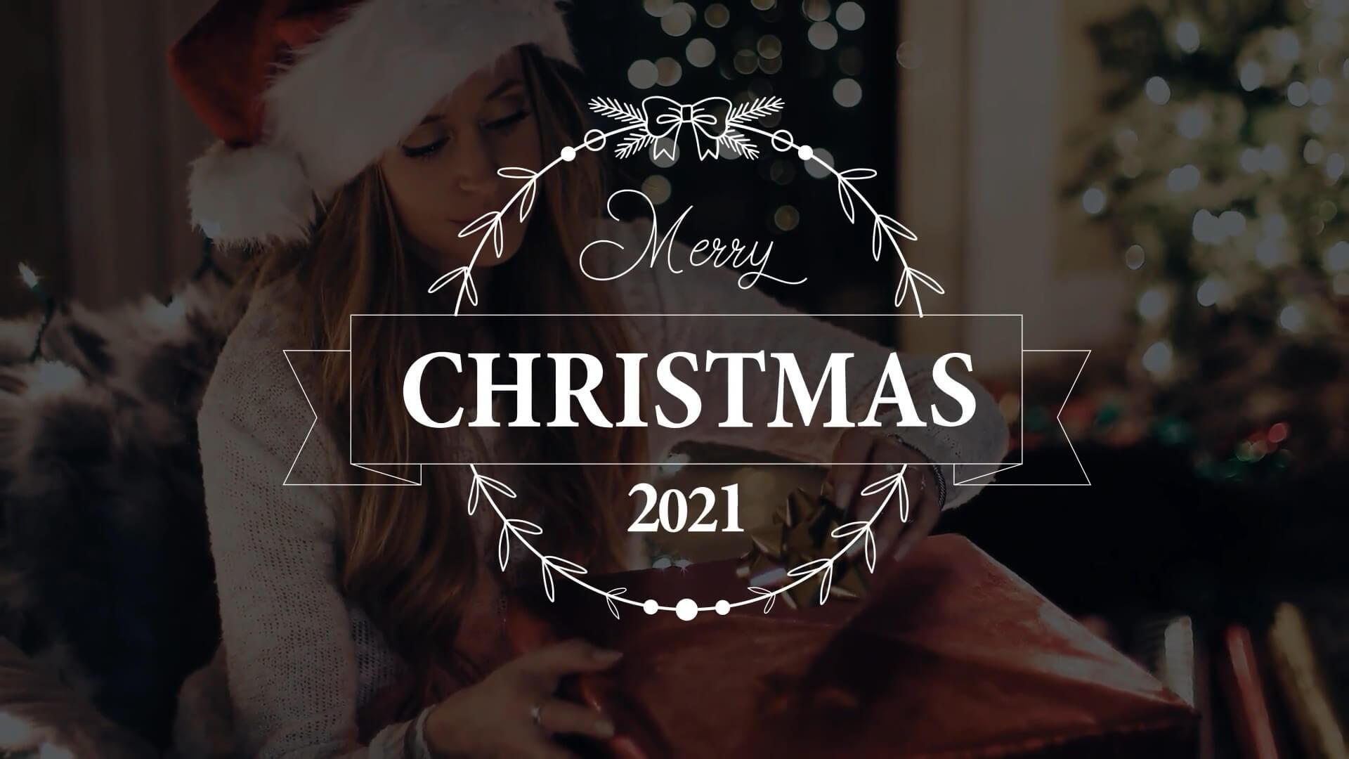 fcpx插件 10组2021年圣诞节新年标题动画模板 Christmas Titles