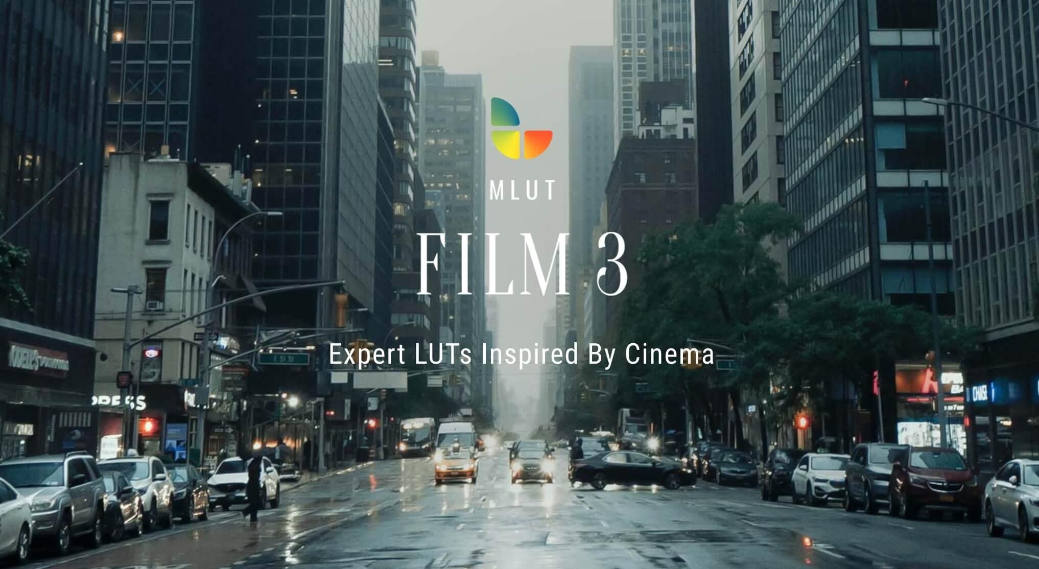 LUTs预设 50组专业电影调色预设 MotionVFX mLUT Film 3