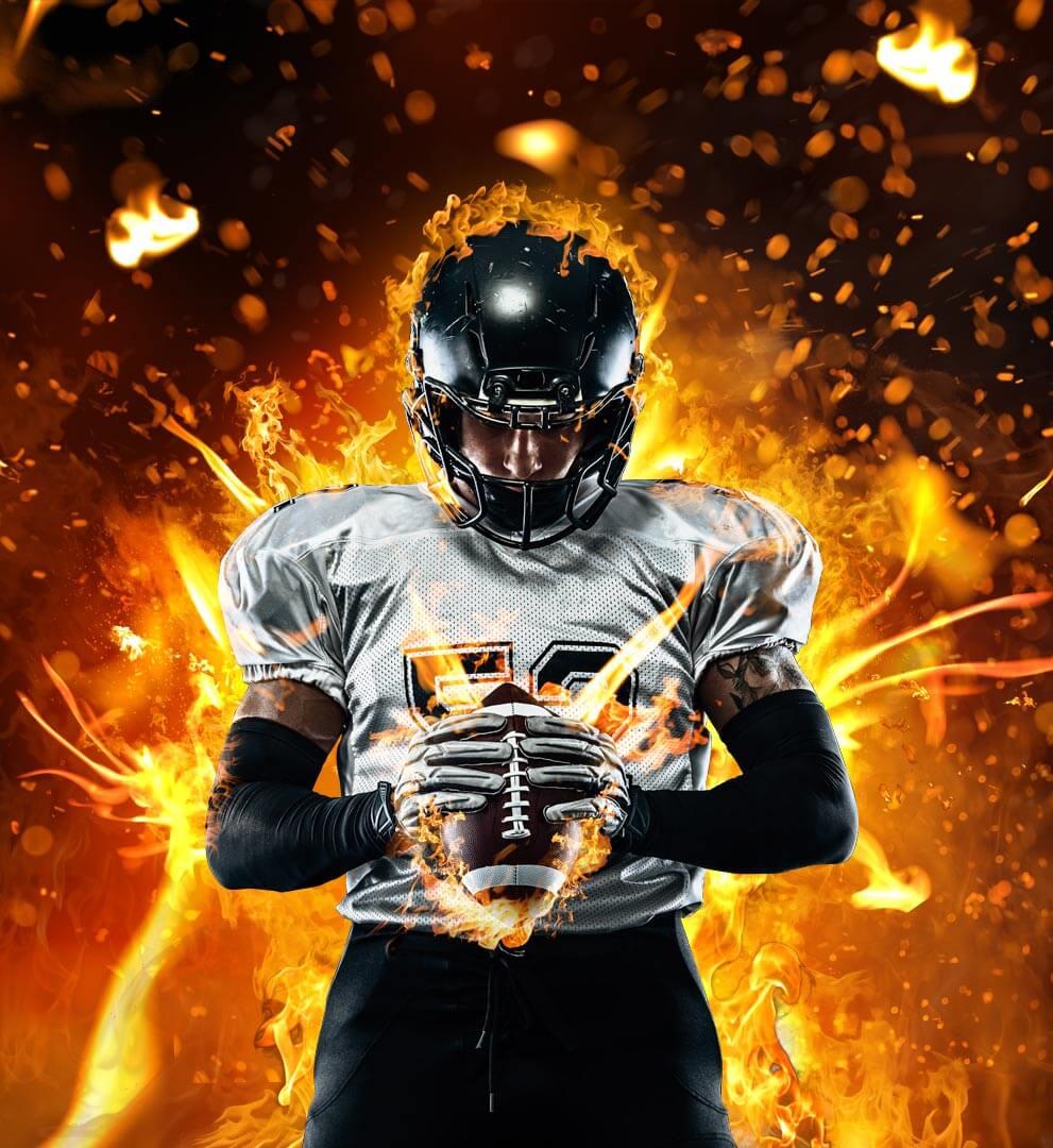 4K视频素材 102个真实火焰燃烧特效合成动画 fire power