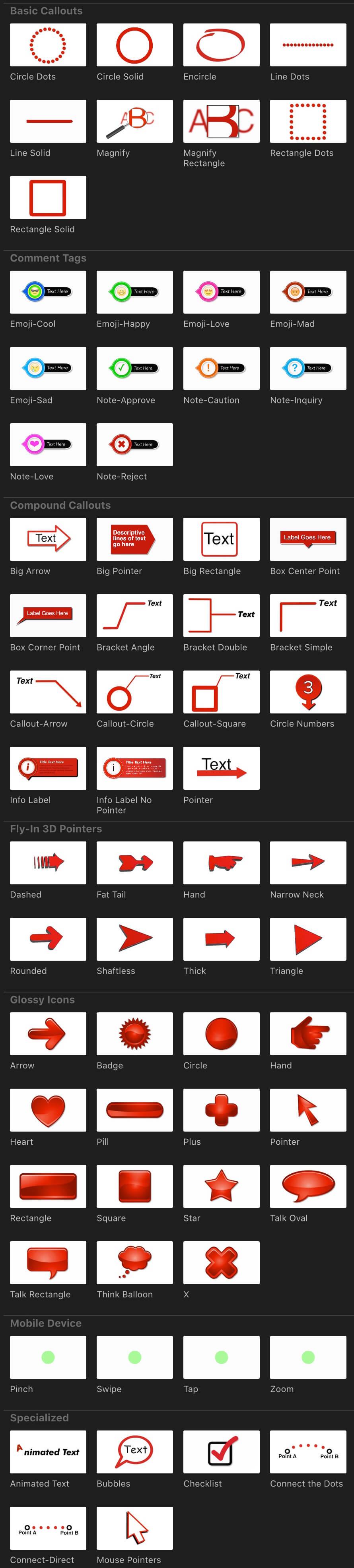 fcpx插件 线条呼出重点标注标签指示标题动画 支持M1 Ripple Callouts