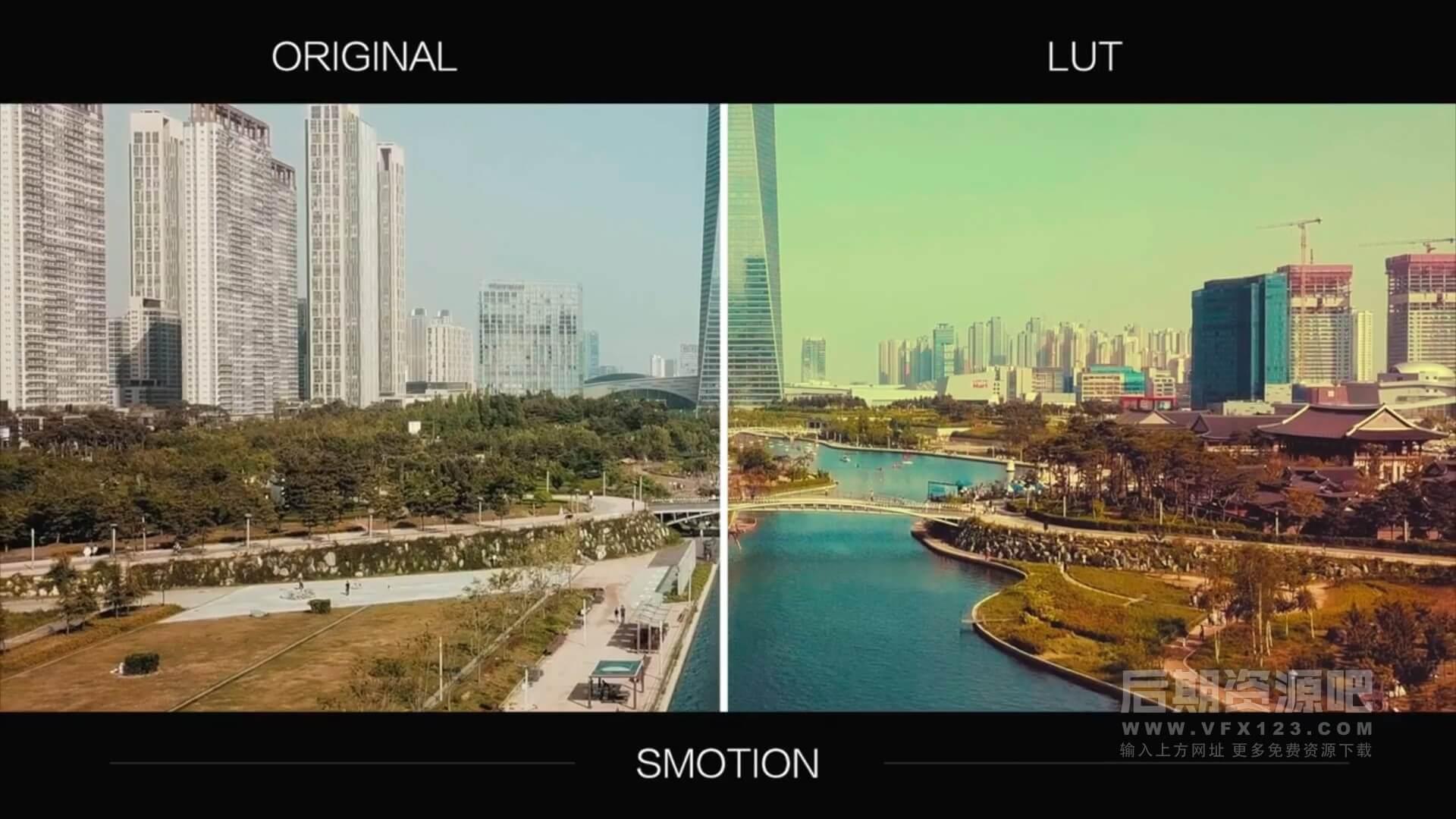 LUTs预设 12组经典影片颜色分级调色预设 Vintage LUTs