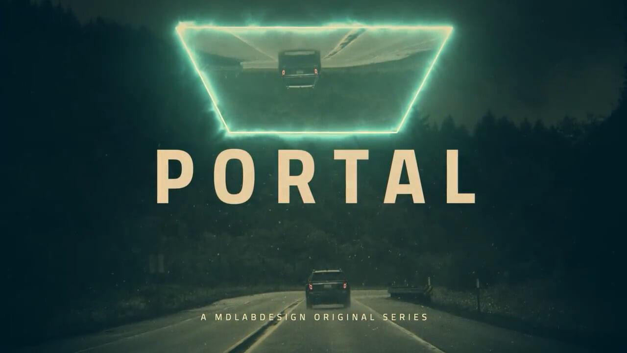 fcpx主题模板 深邃大气电影预告片开场片头 Portal