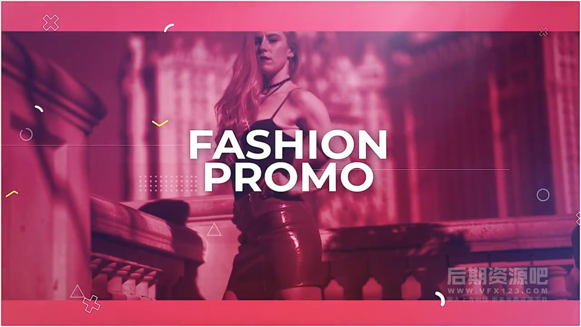 fcpx插件 炫酷时尚写真个人展示主题模板 含12分镜 The Fashion