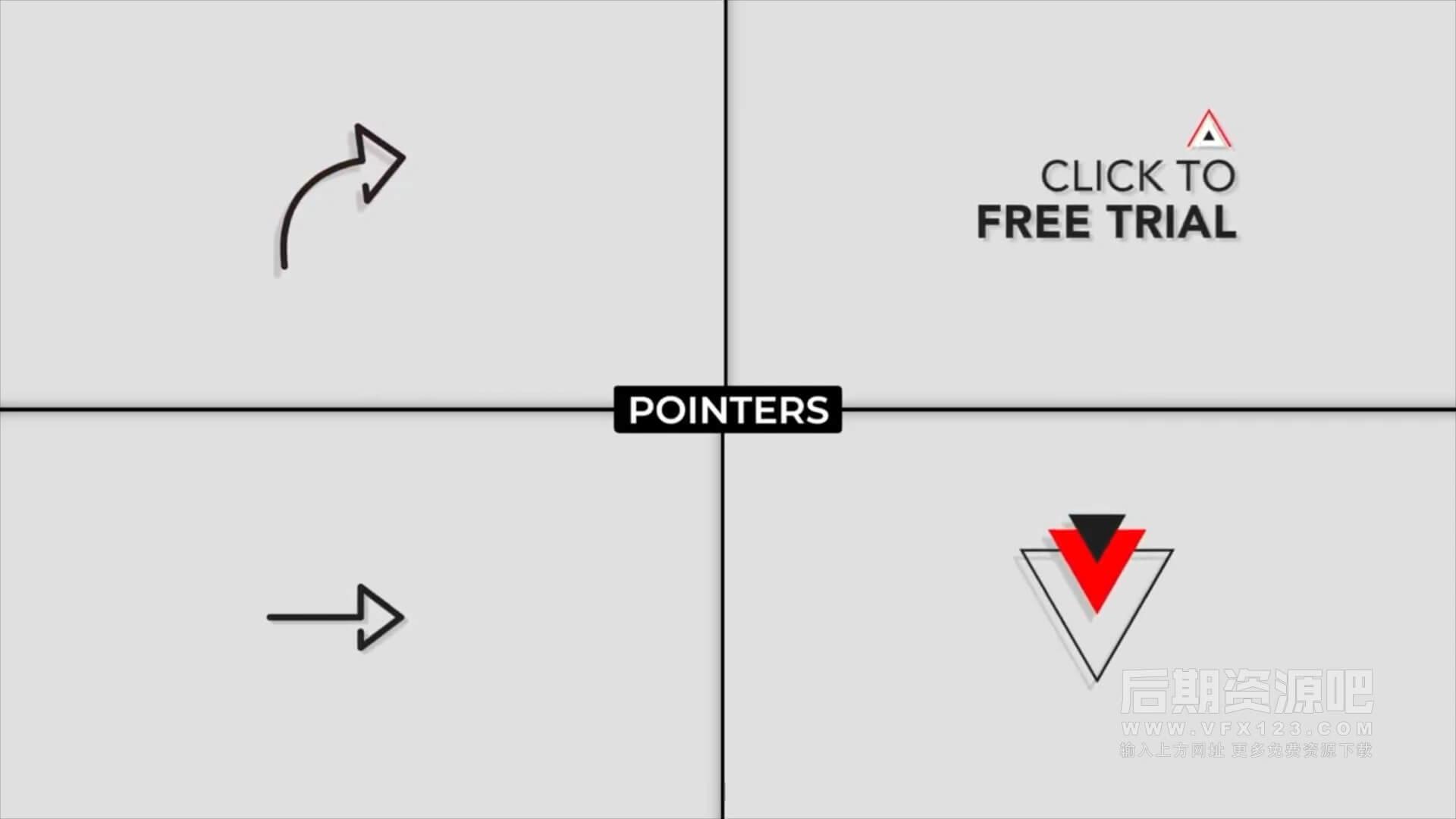 fcpx插件 自媒体短视频博主影片制作工具包 第六季 喜欢订阅标题转场字幕条片尾等